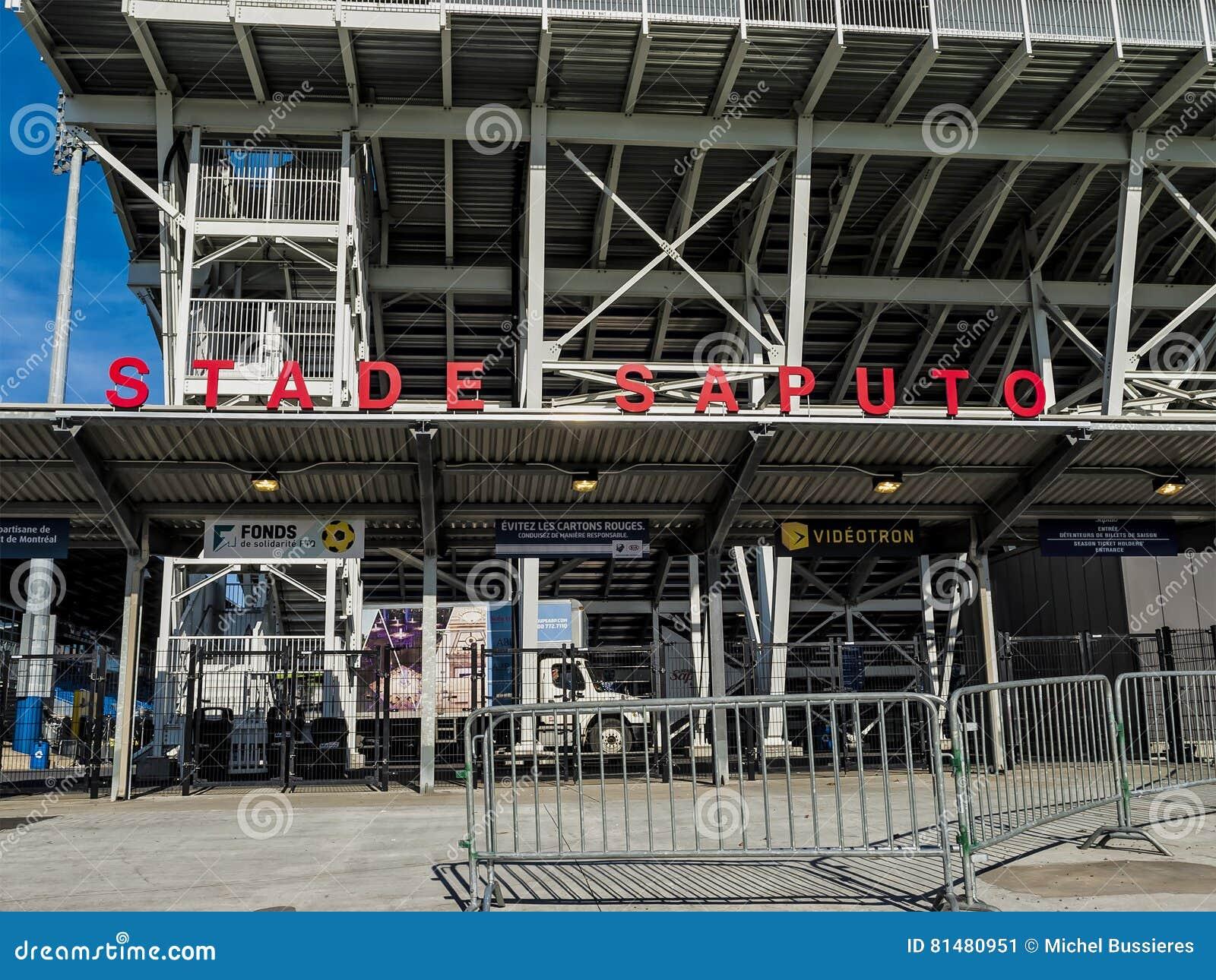 Saputo Stadium Editorial Photo Image Of Canada Location