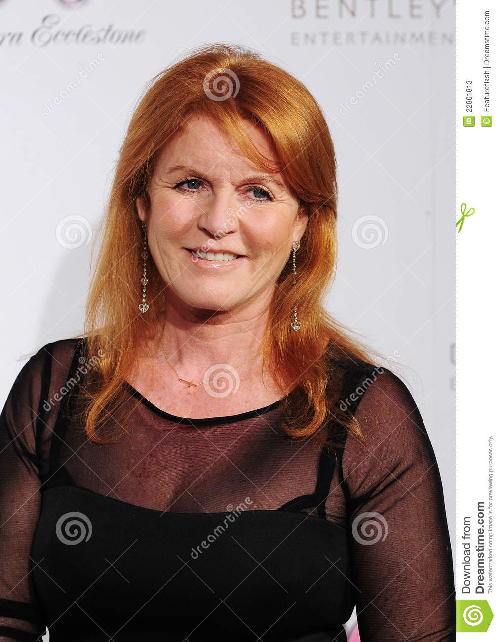 Sarah Ferguson attending a Fundraising Dinner In Aid Of Great Ormond ...