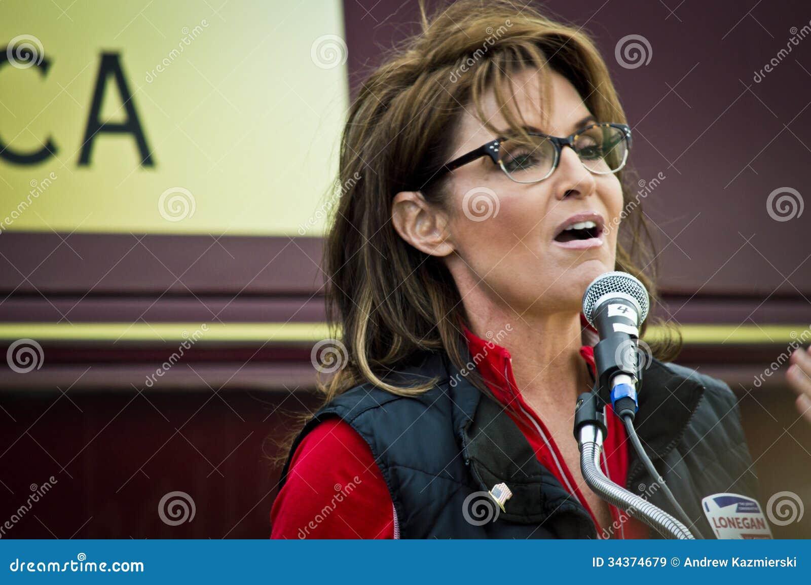 Sarah Palin 13 Redactionele Stock Afbeelding - sarah-palin-34374679