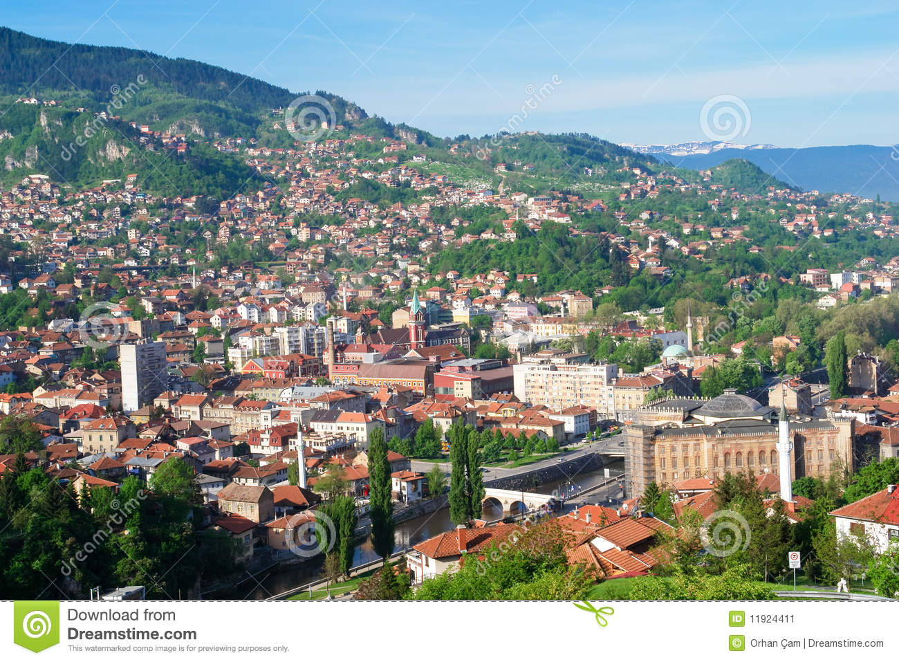 The capital of Bosnia - Sarajevo