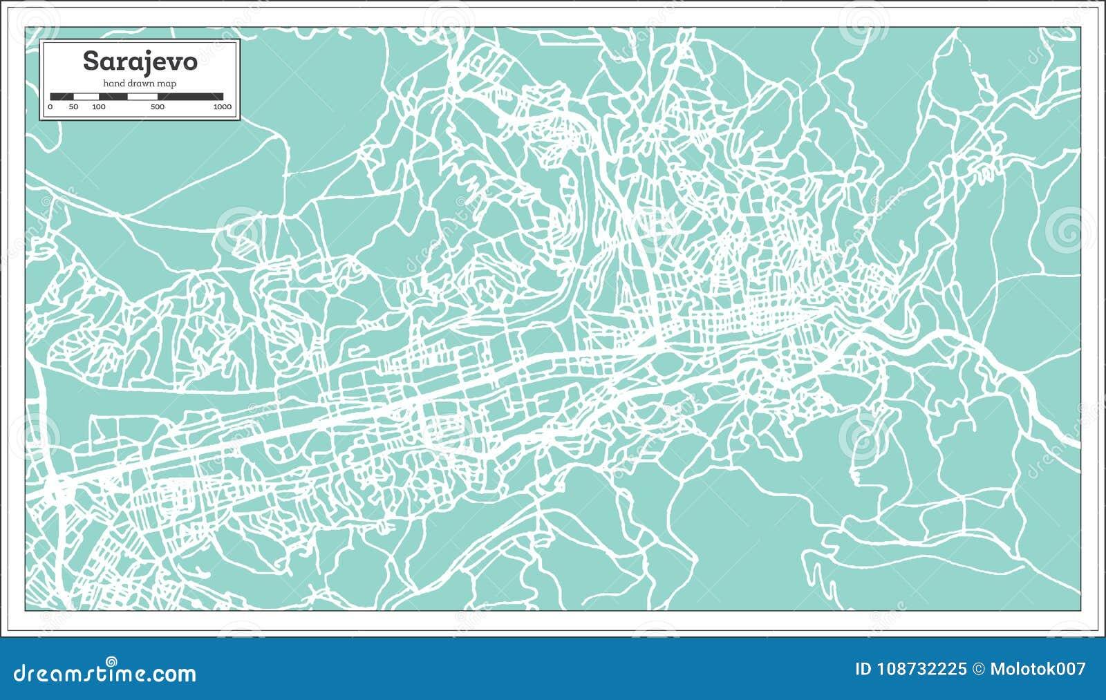 Sarajevo Bosnia And Herzegovina City Map In Retro Style ... on amsterdam netherlands map, pristina kosovo map, surviving the killshot map, vladivostok russia map, bosnia and herzegovina map, slovenia bosnia map, damascus syria map, bosnia location on map, livno bosnia map, bratislava slovakia map, syrian land use map, blagaj bosnia map, ww1 map, zurich switzerland map, europe bosnia map, stockholm bosnia map, lukavac bosnia map, tirana albania map, bosnia genocide map, bosnia on world map,