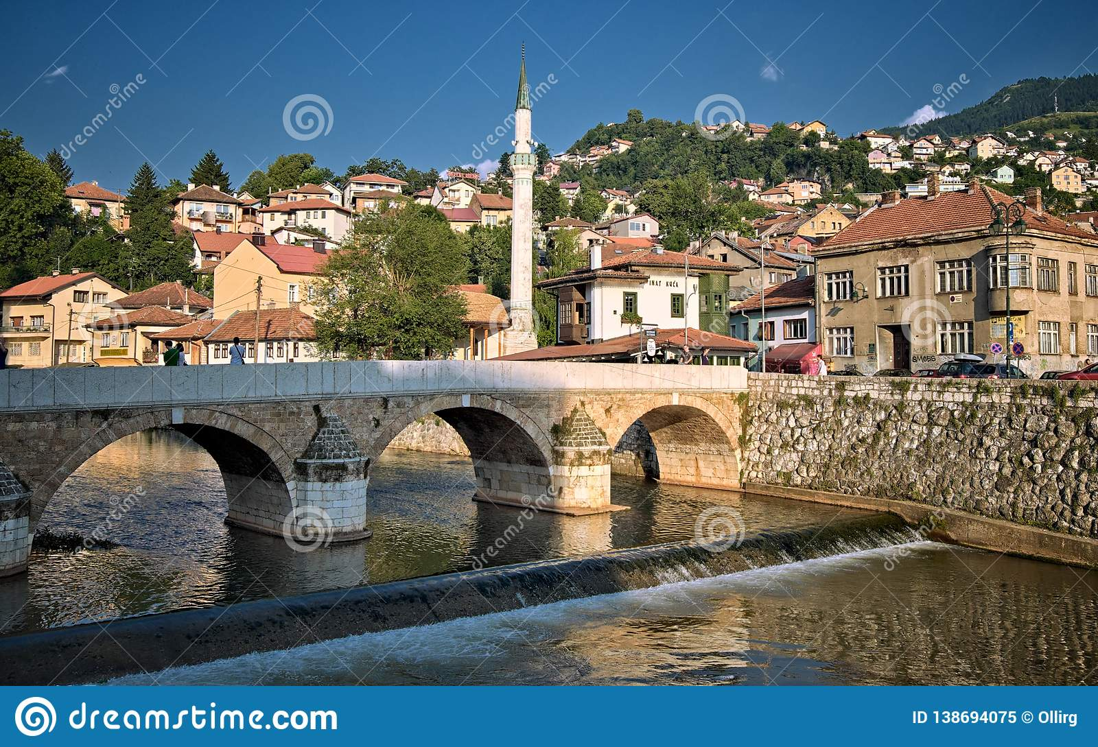 Sarajevo Old Town Bosnia And Herzegovina Editorial Image