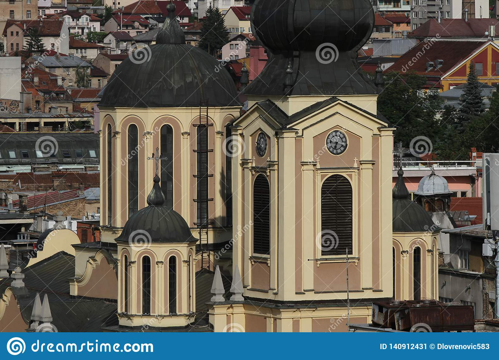 Sarajevo town of east and west cultures