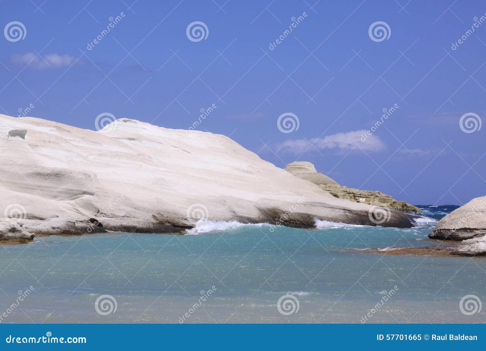 Sarakiniko beach on Milos island 03