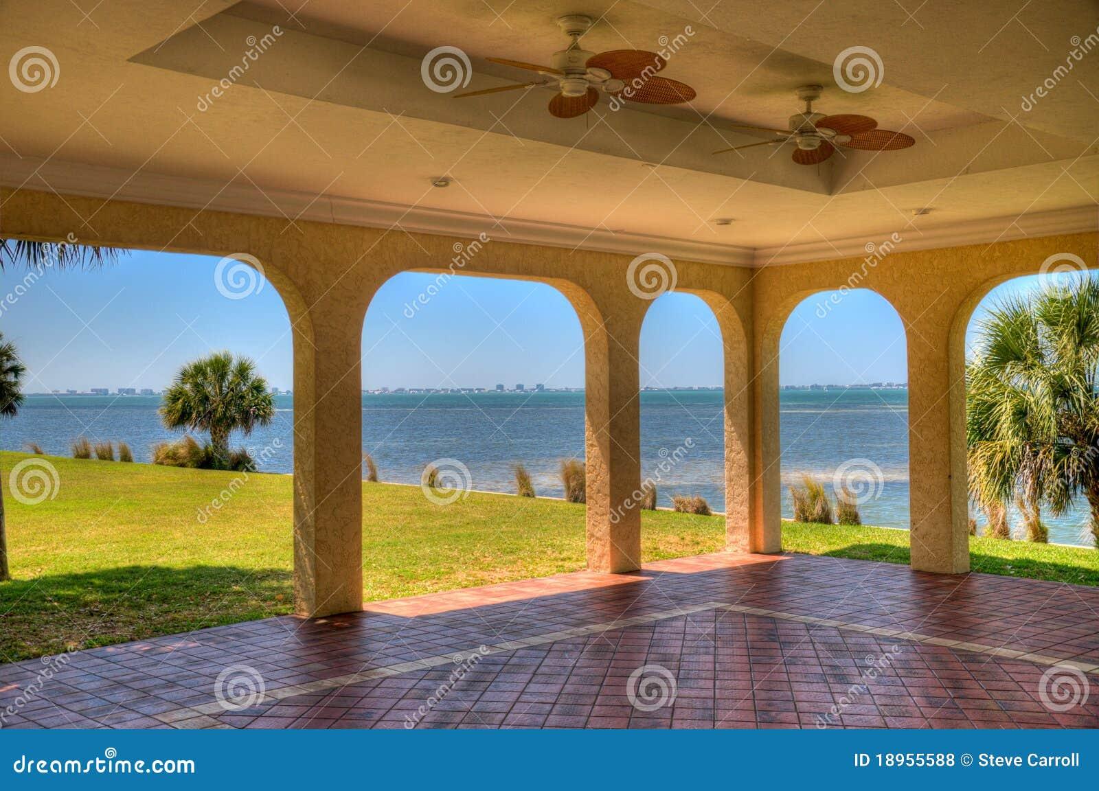 Sarasota-Schacht von der Crosley Villa