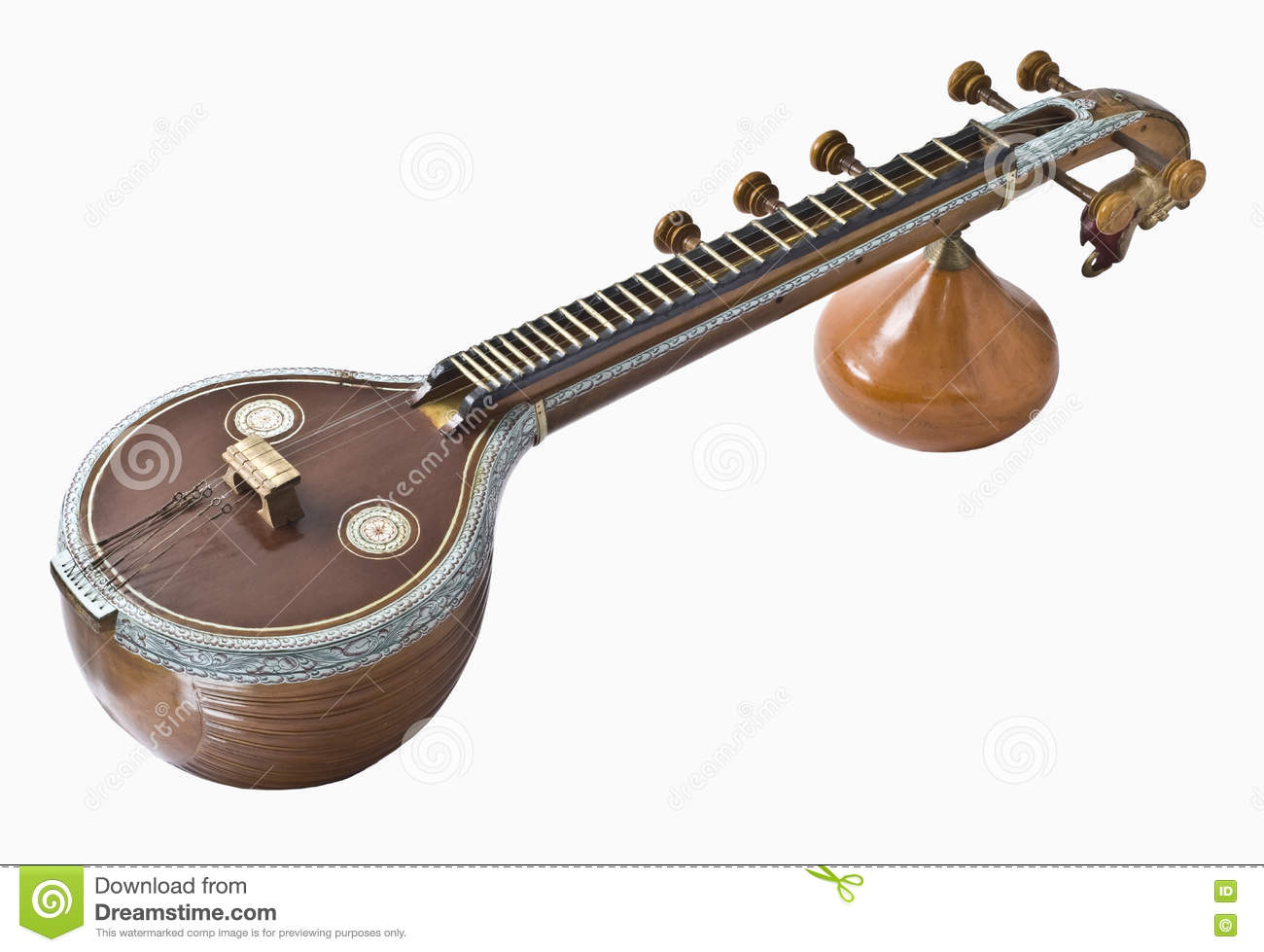 Asian multi stringed musical-5800