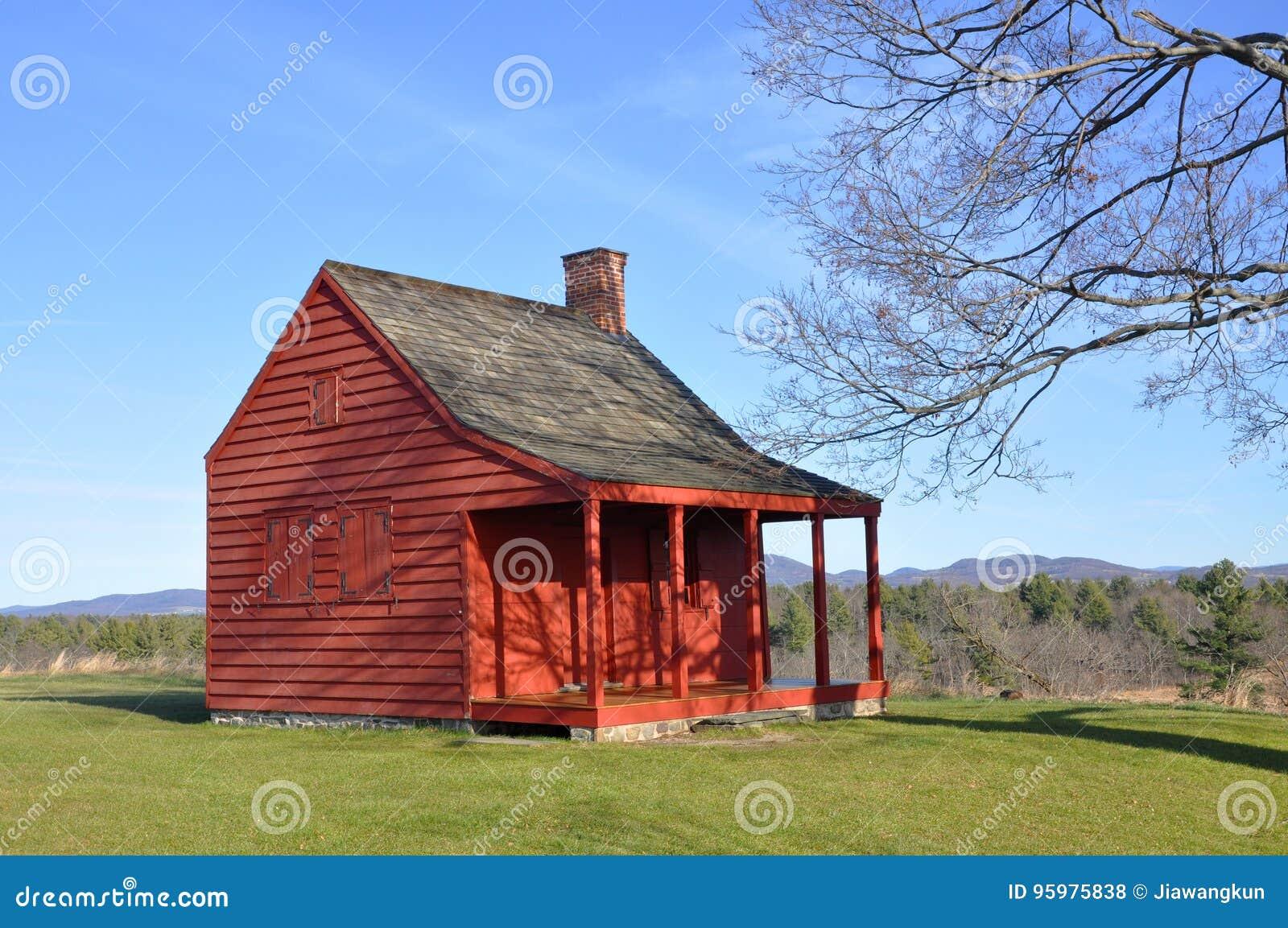 Saratoga parkerar nationellt historiskt, New York, USA