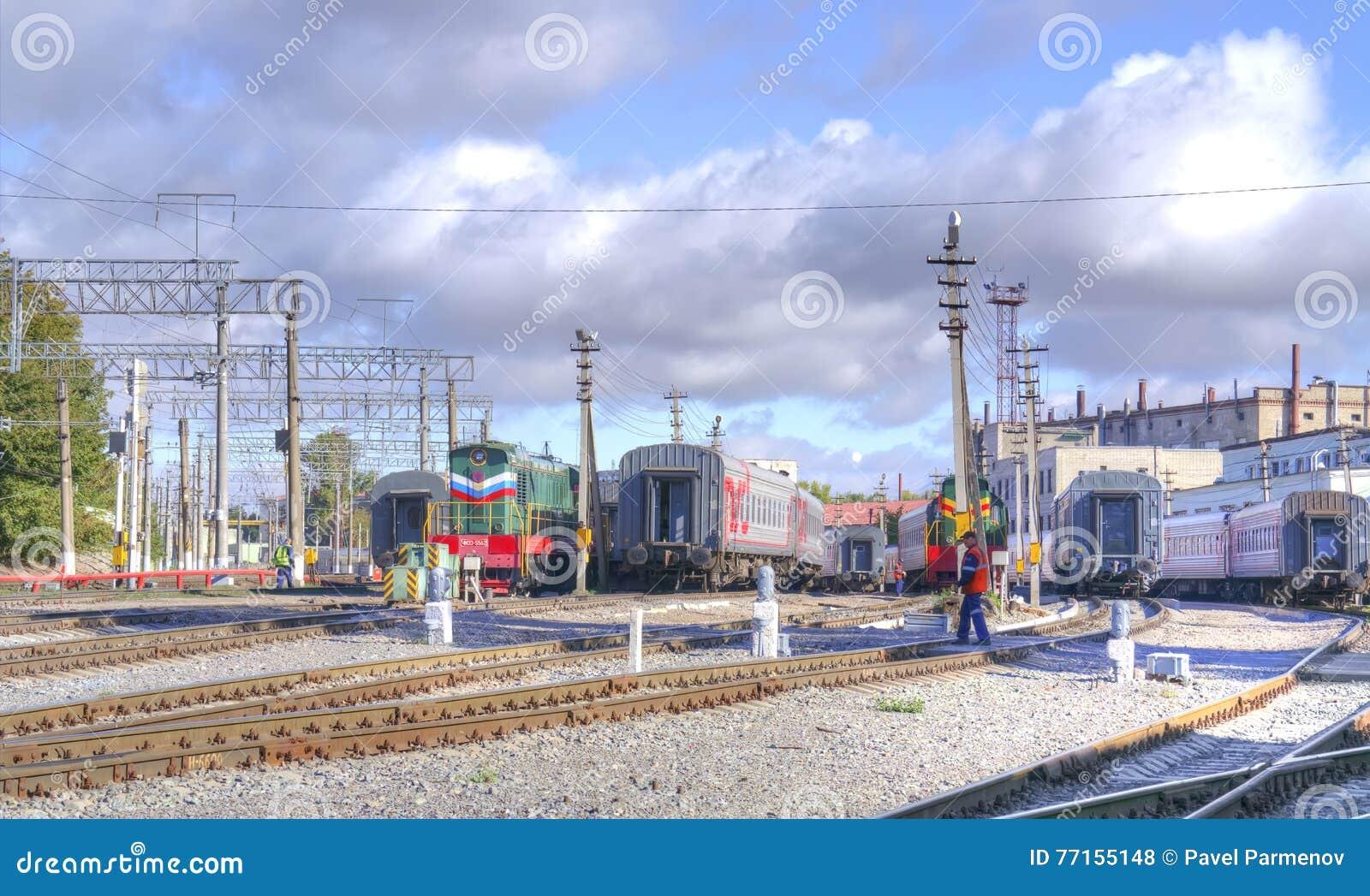 Saratov Stationnement de train