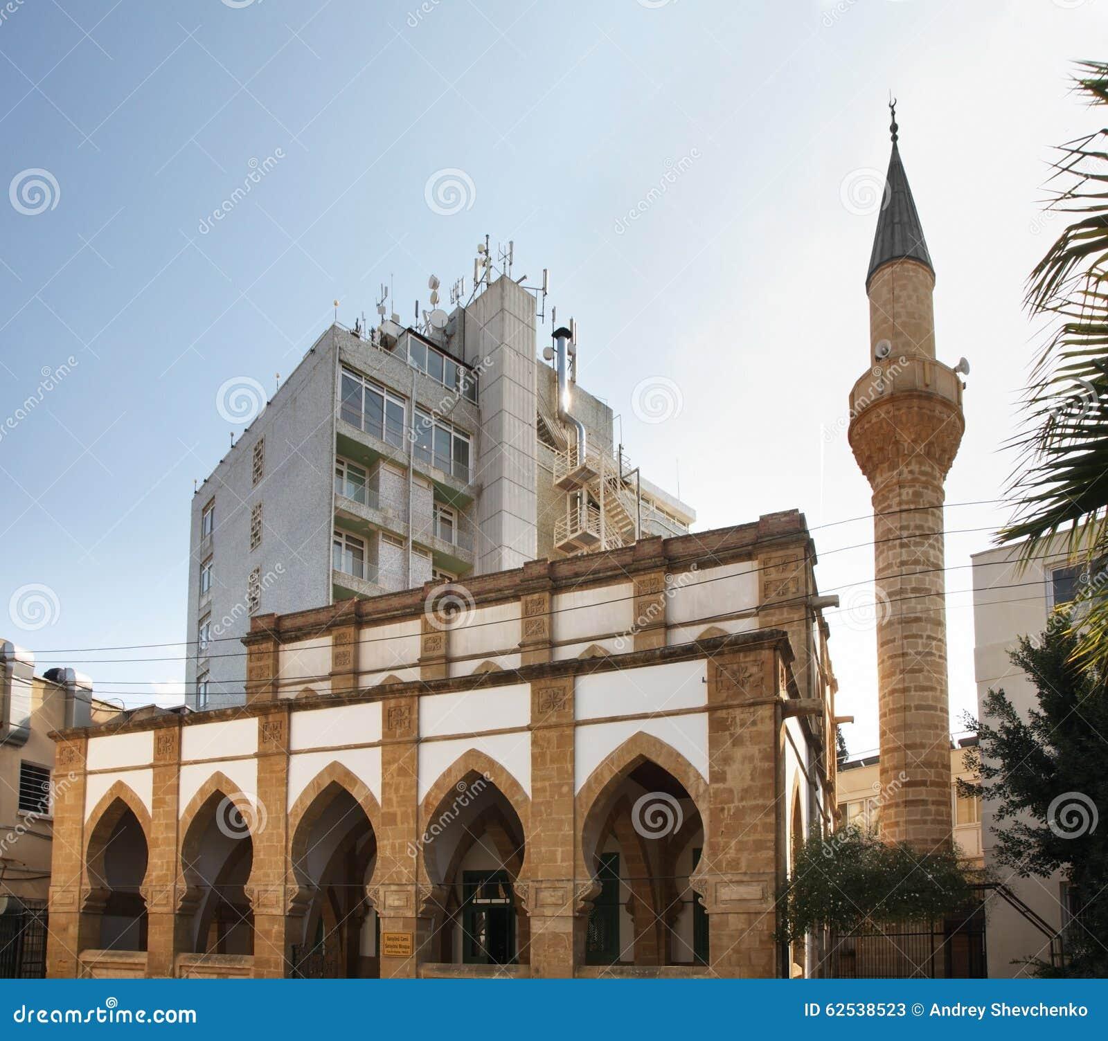 Sarayonu清真寺在尼科西亚 塞浦路斯