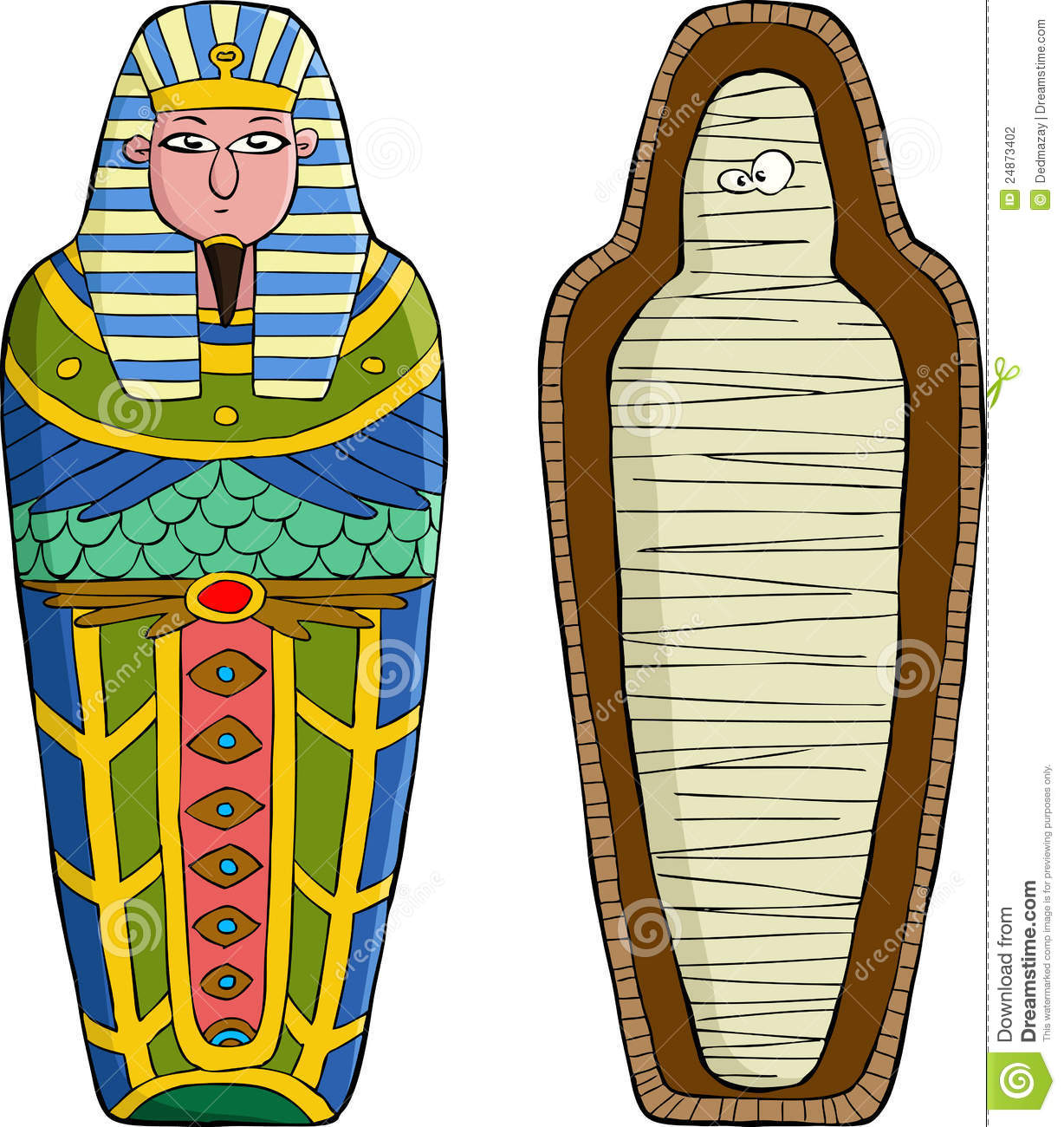 egyptian mummies coffins - photo #23
