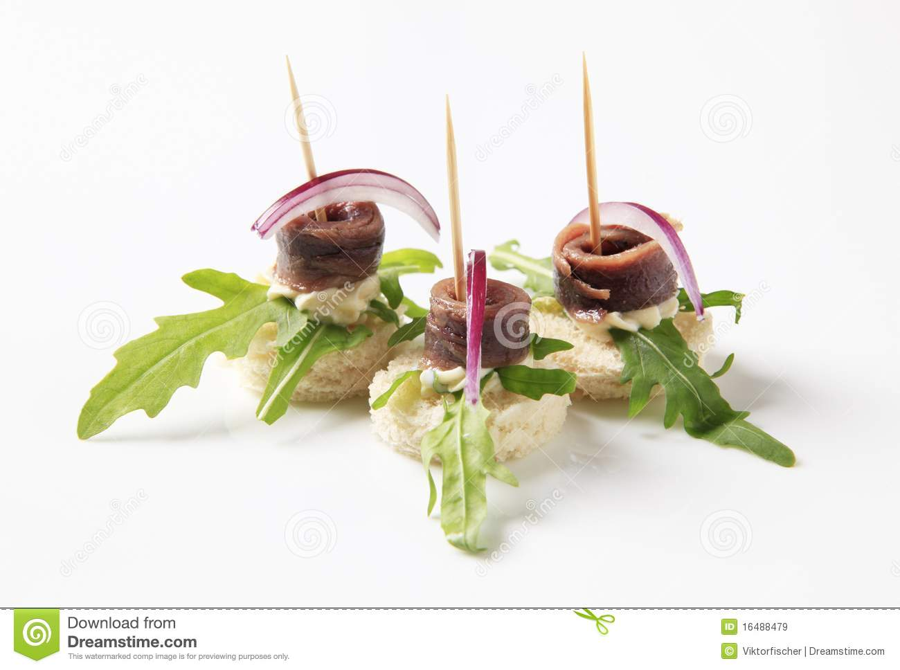 Sardelle Canapes