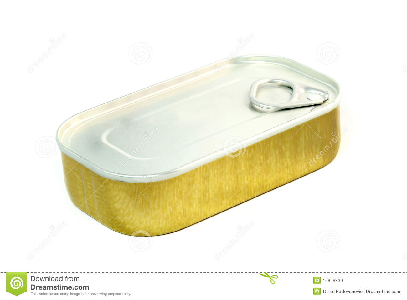Sardine can royalty free stock images image 10928839 for Empty sardine cans