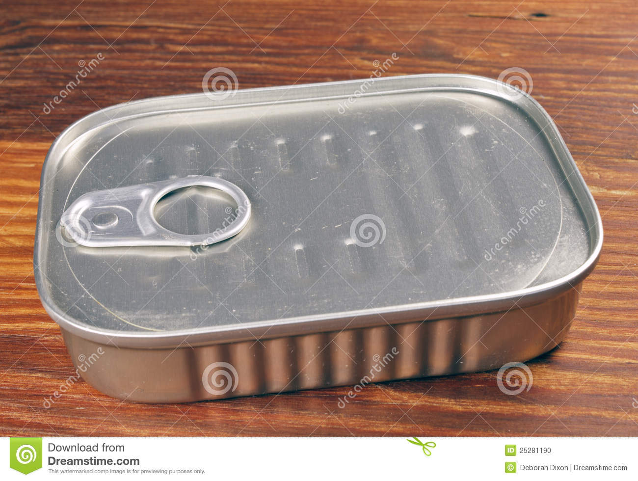 Sardine can stock photo image 25281190 for Empty sardine cans