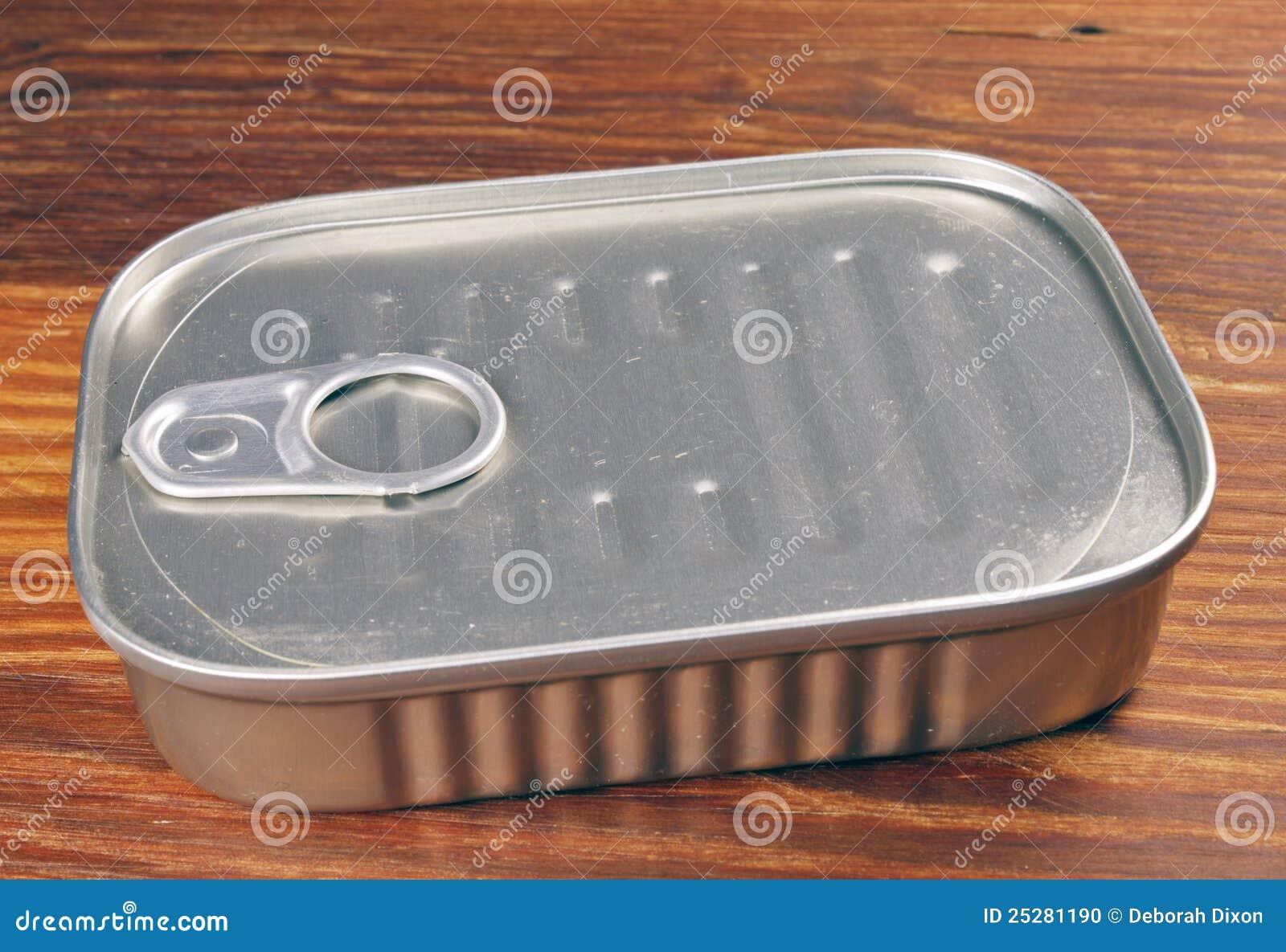 Sardine can stock photo image 25281190 Empty sardine cans