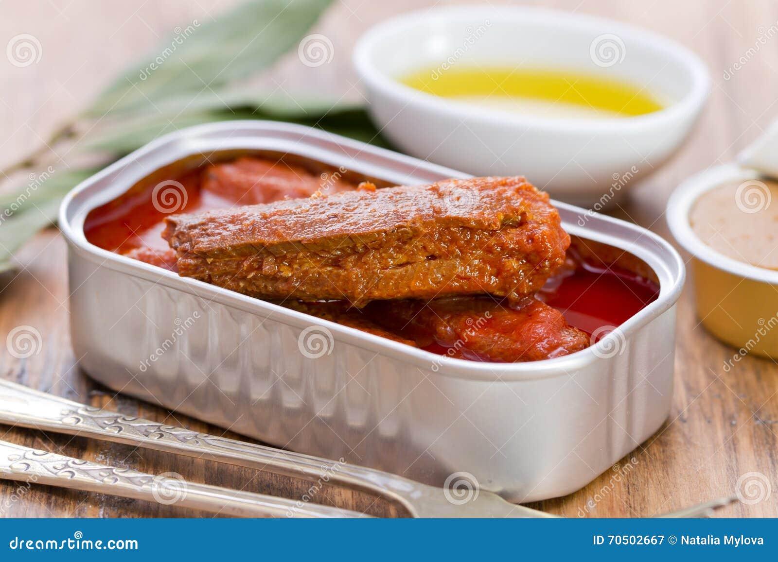 sardiner i tomatsås