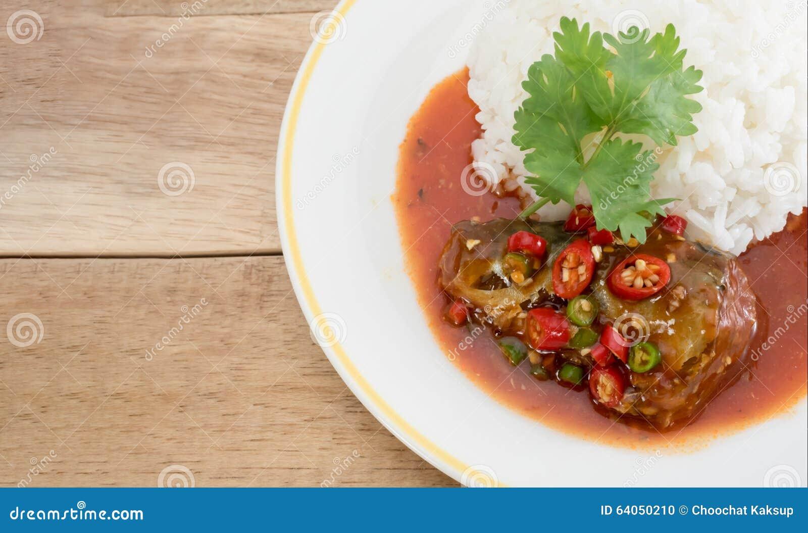 Sardines fish in tomato sauce stock photo image 64050210 for Fish in tomato sauce