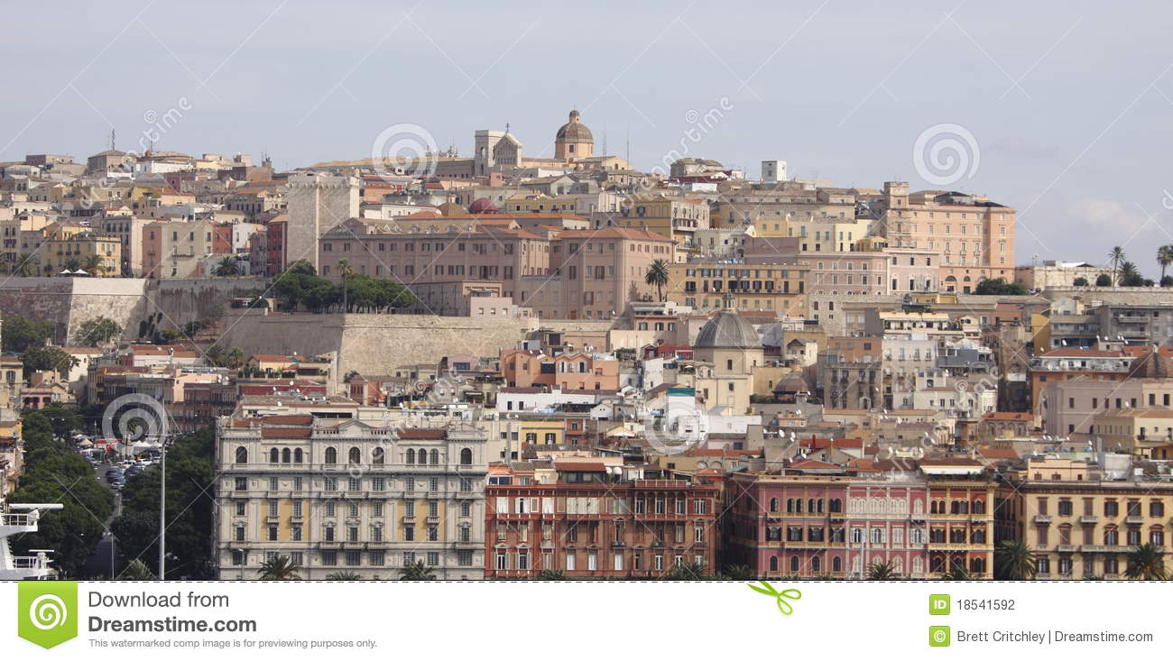Cagliari Italy  city photos gallery : Sardinia, Cagliari, Italy Stock Photography Image: 18541592