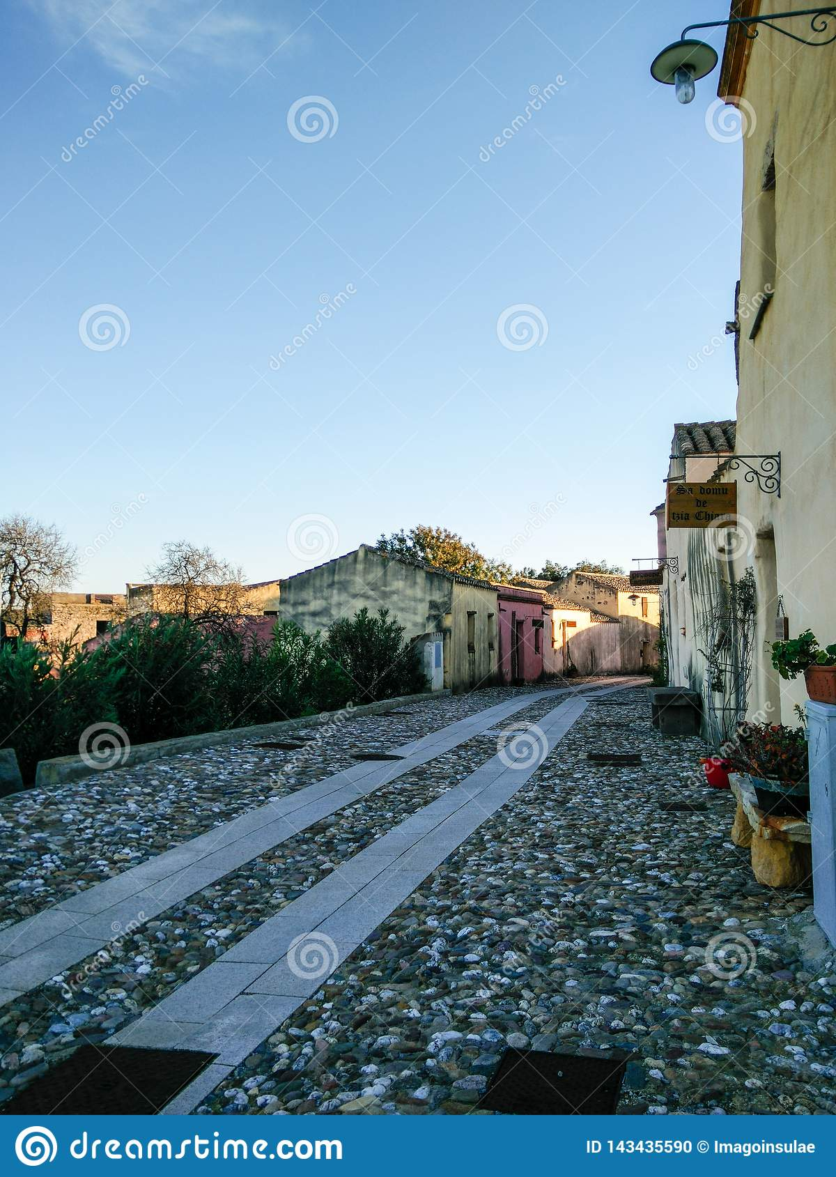 Sardinia. Old and ancient villages
