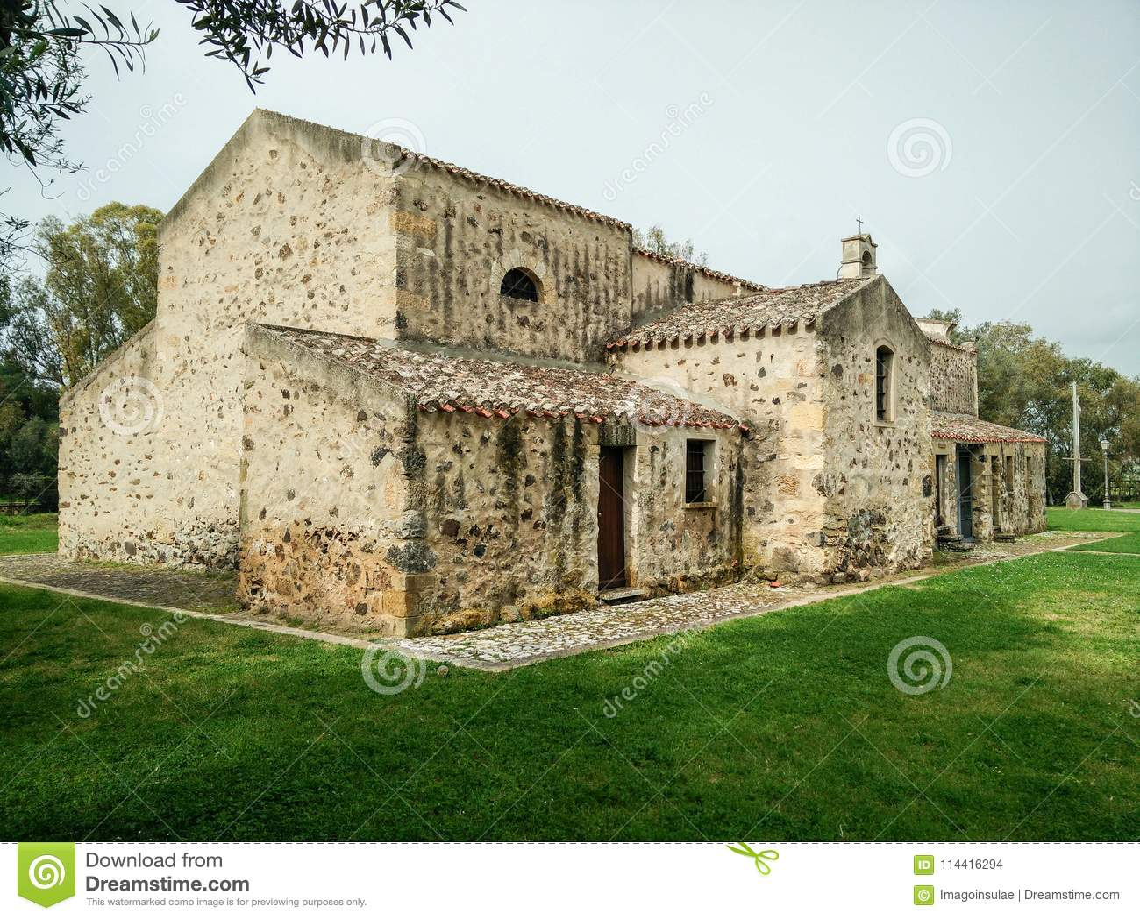Sardinia. Religious architecture