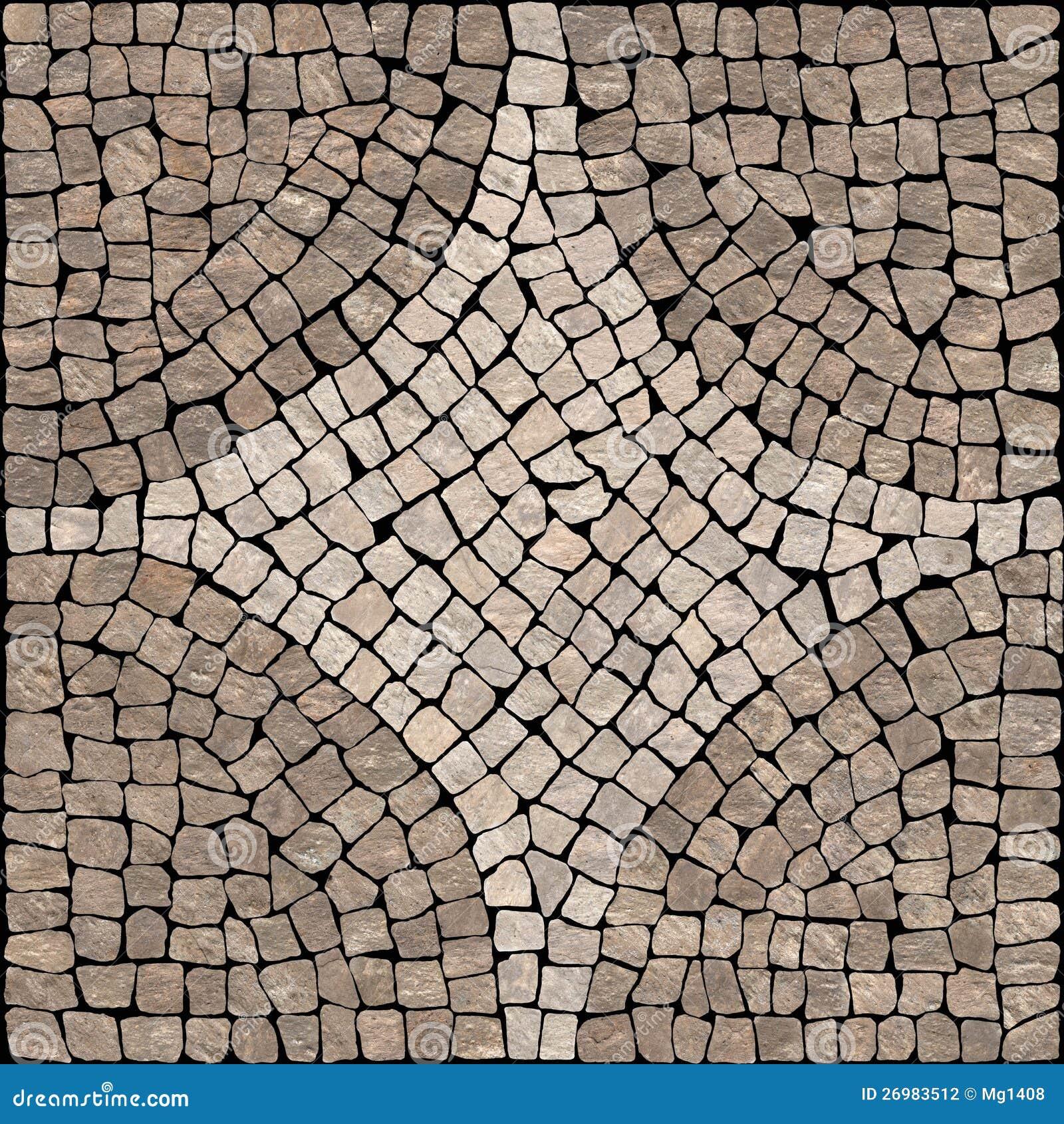 Sardis Stone Mosaic Texture Stock Photo Image 26983512