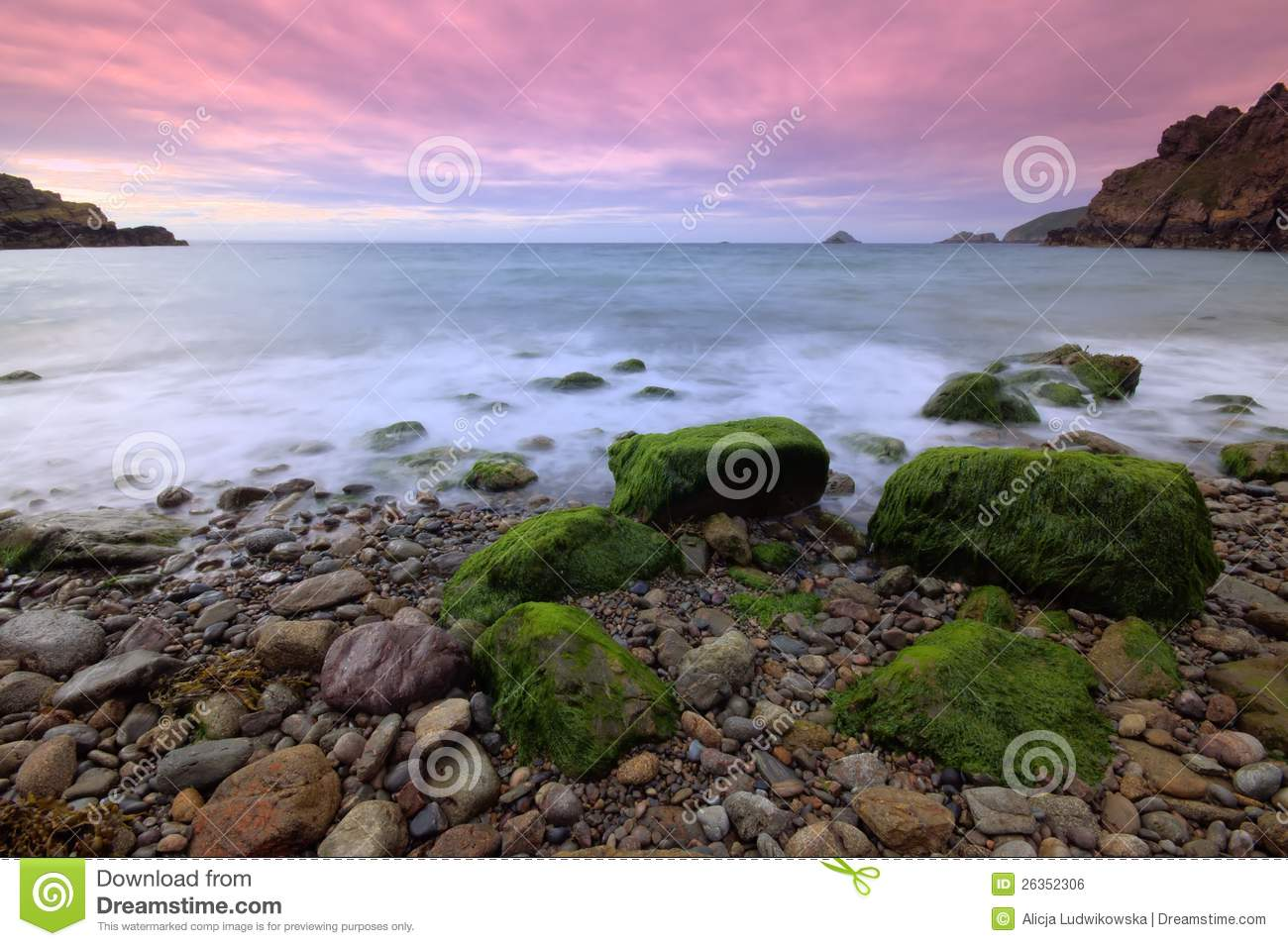 Download Sark, Dixcart Bay stock photo. Image of rocks, channel - 26352306