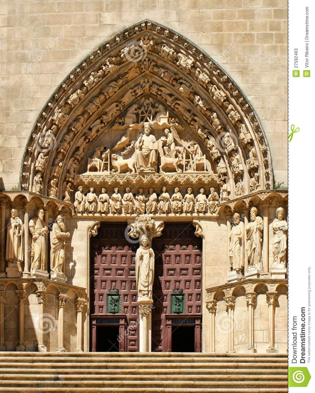 The Sarmental Door of Burgos Cathedral