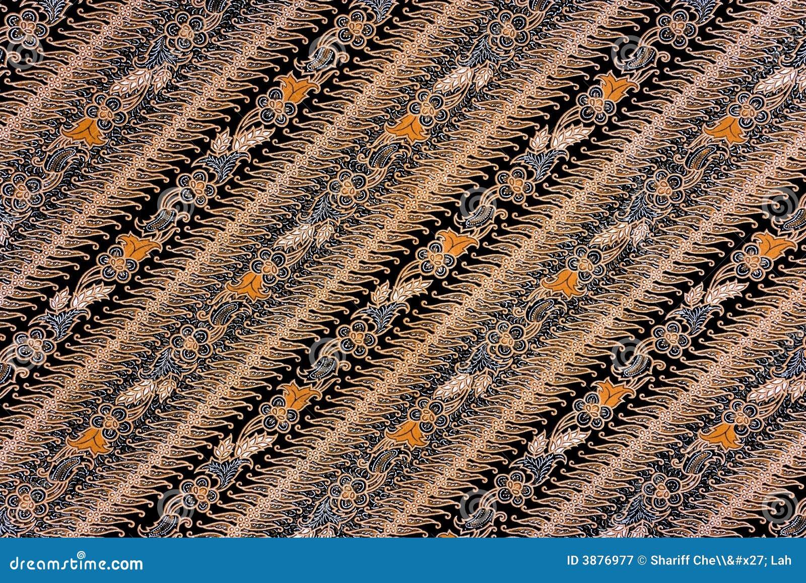 Sarong indonesiano del batik