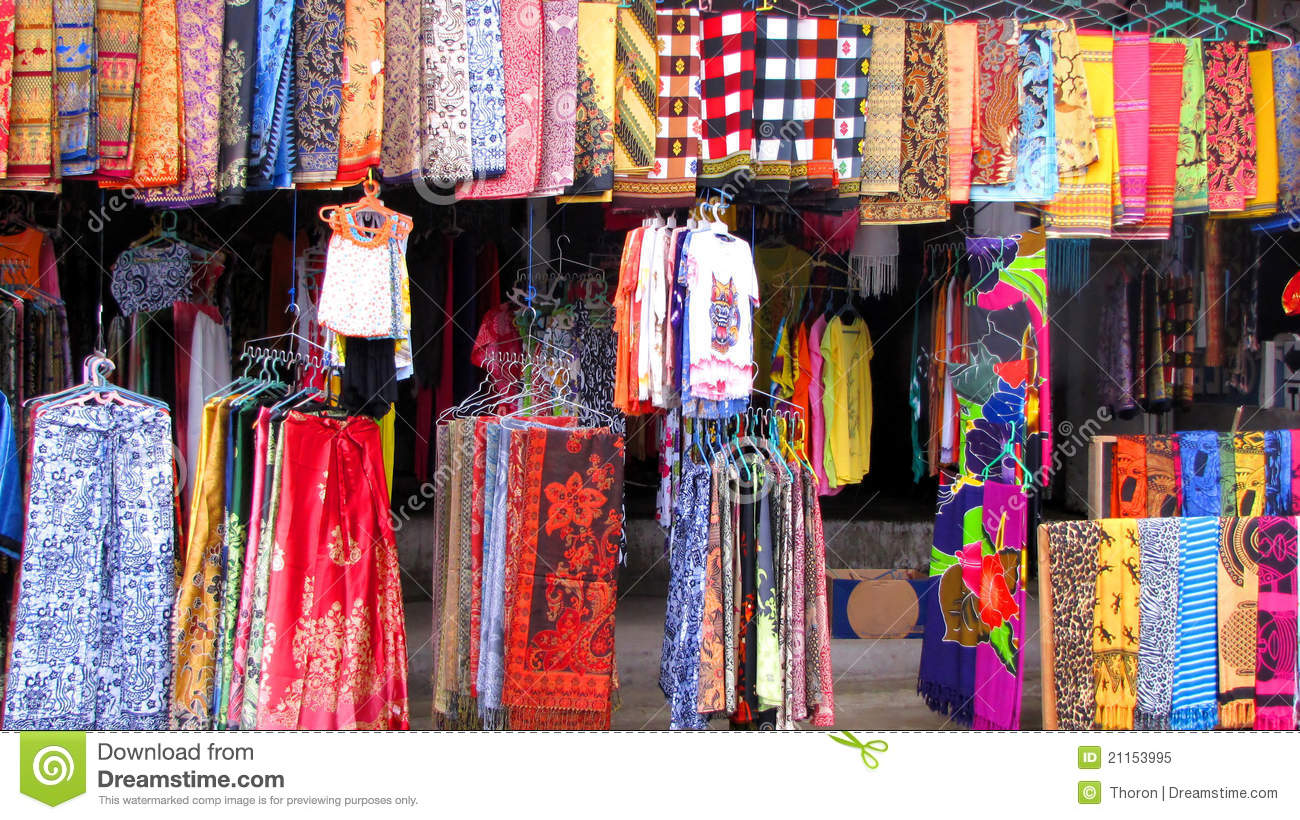 Sarongs Royalty Free Stock Photo - Image: 21153995