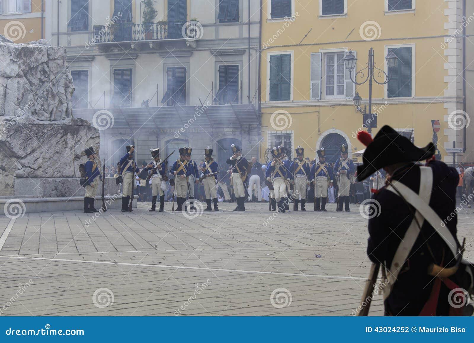 Sarzana Napoleon Festival Editorial Photography - Image ...