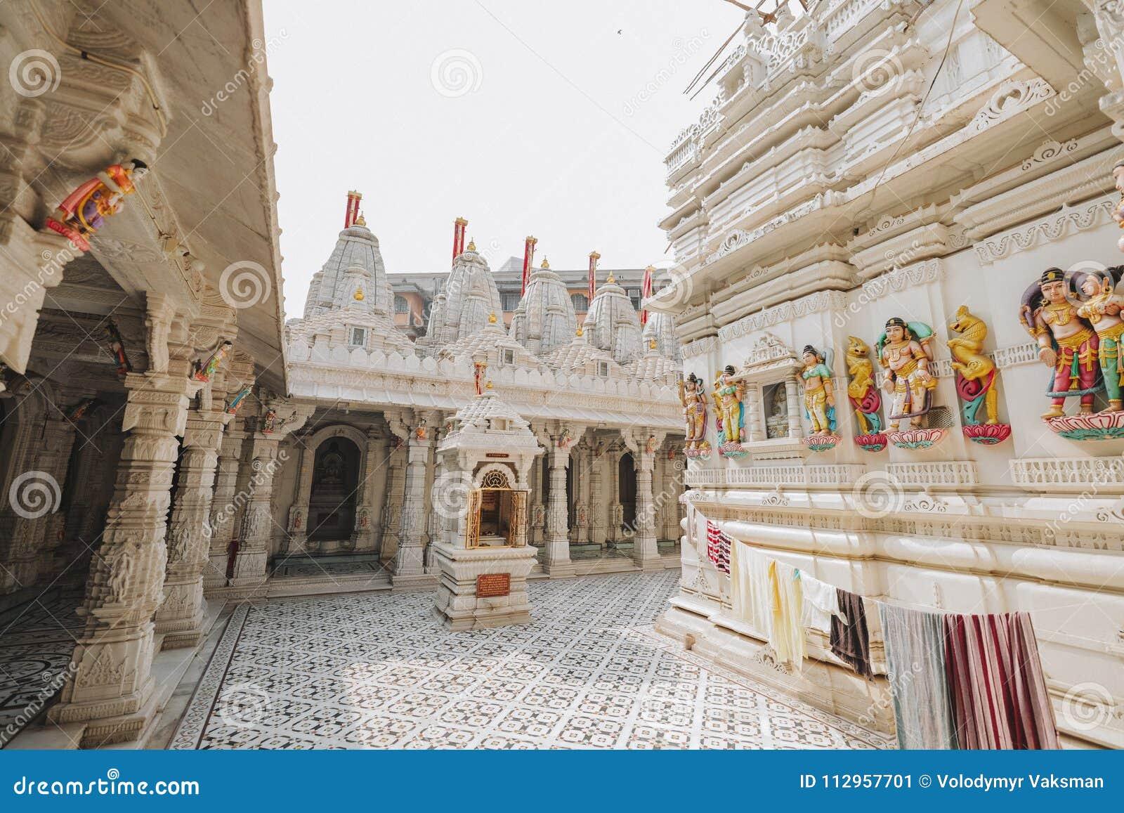 Sas Bahu świątynia w Gwalior mieście, India