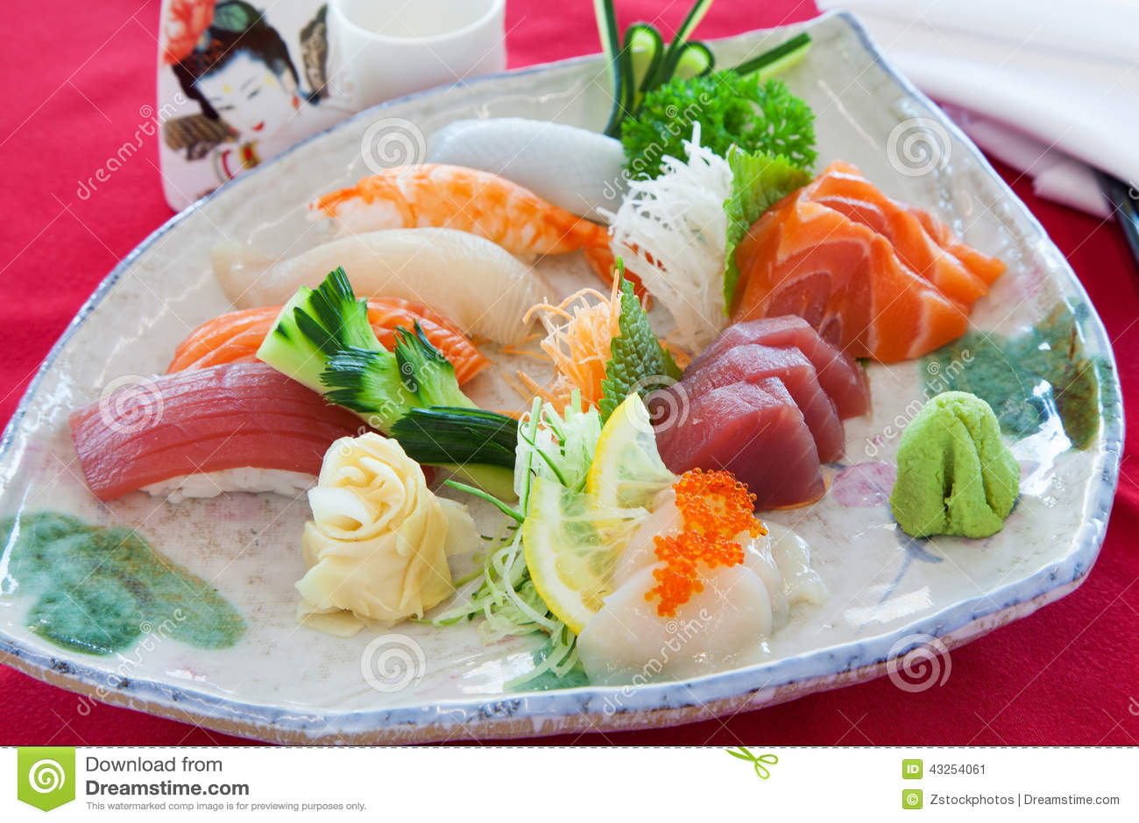 Sashimi mezclado
