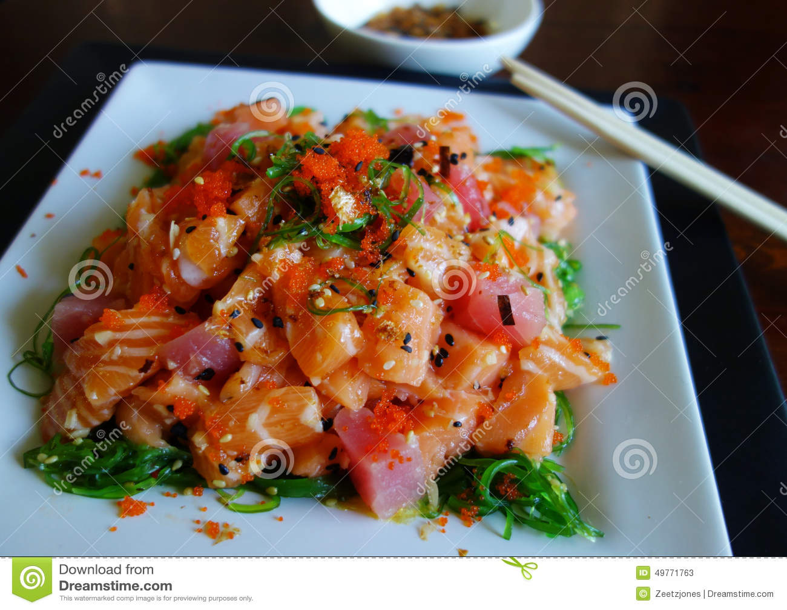 Sashimi Salad S...