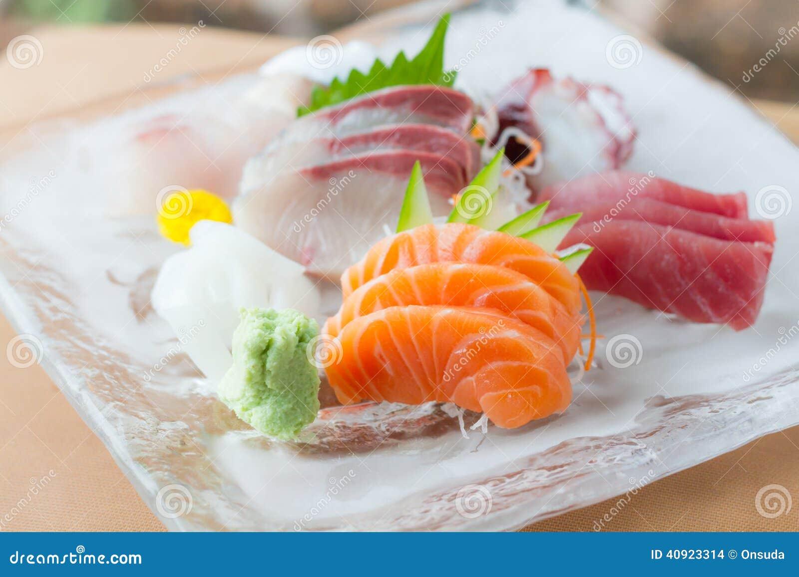 Sashimimaträtt