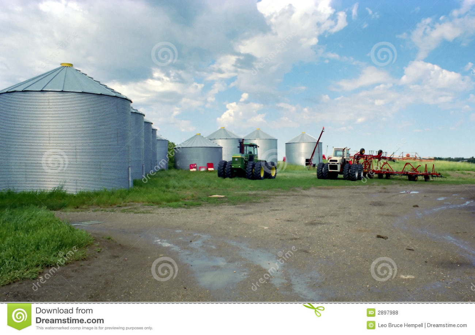 Saskatchewan Farm Canada