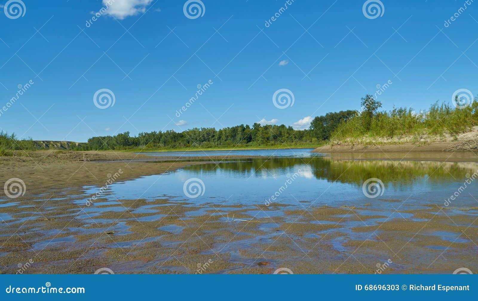 Saskatchewan-Fluss