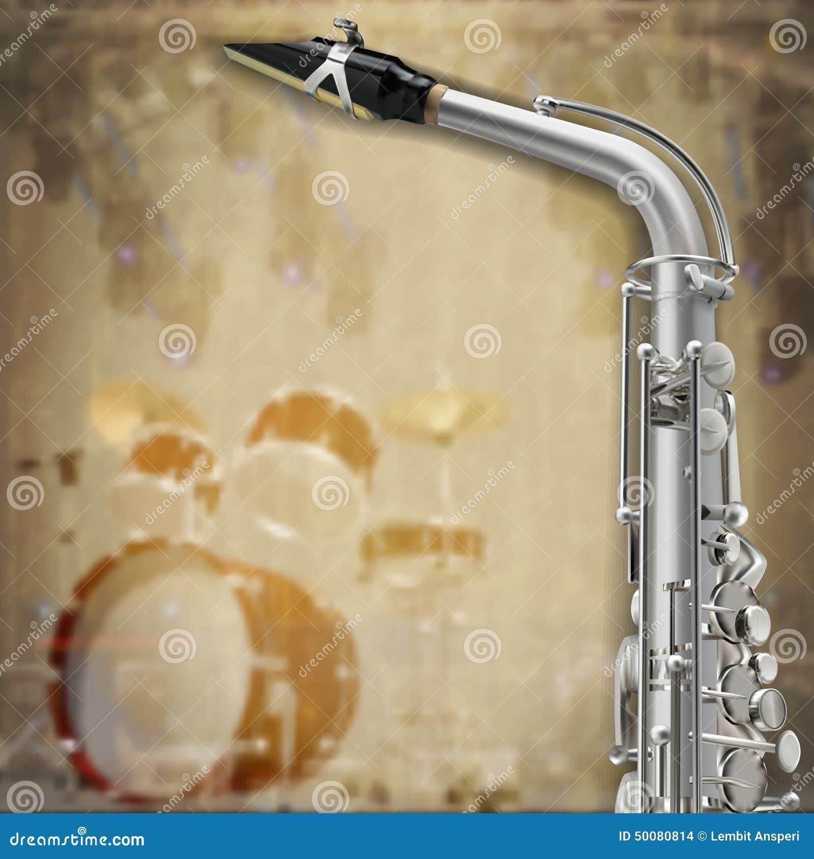 Sassofono e strumenti musicali astratti del fondo di lerciume - sassofono-e-strumenti-musicali-astratti-del-fondo-di-lerciume-50080814