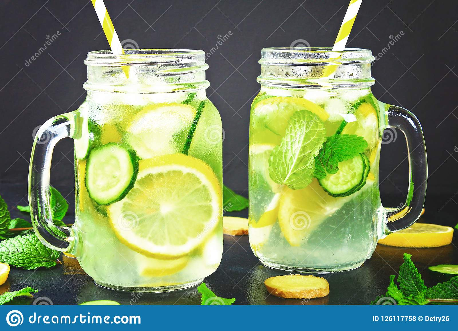 lemon and cucumber water for weight loss