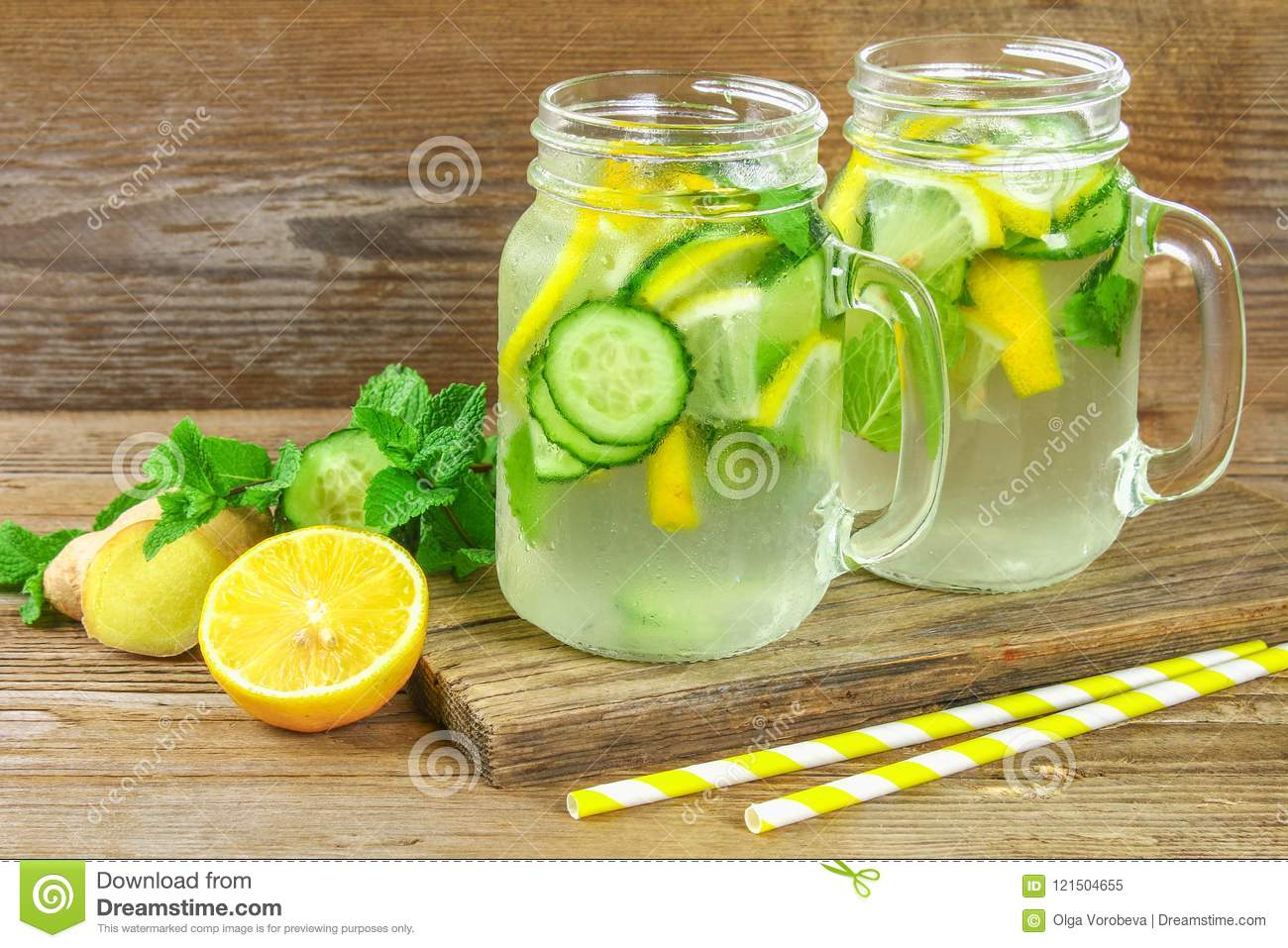 mint water weight loss