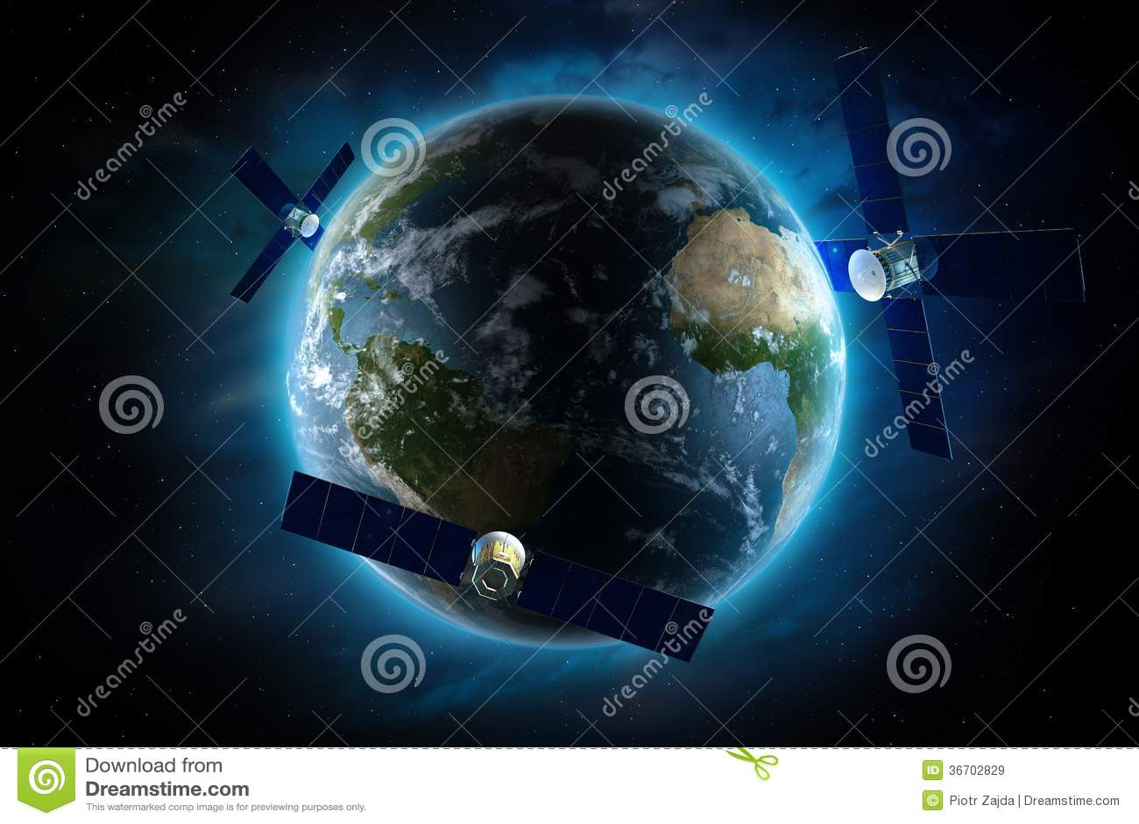 Satélites que están en órbita