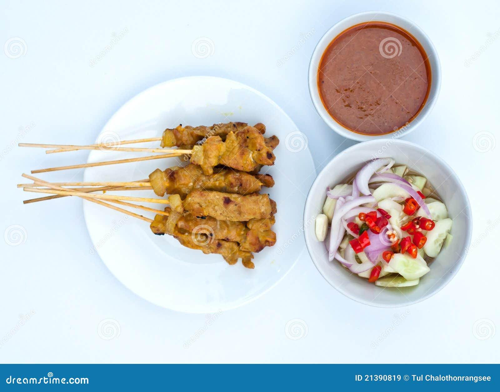Satay pork
