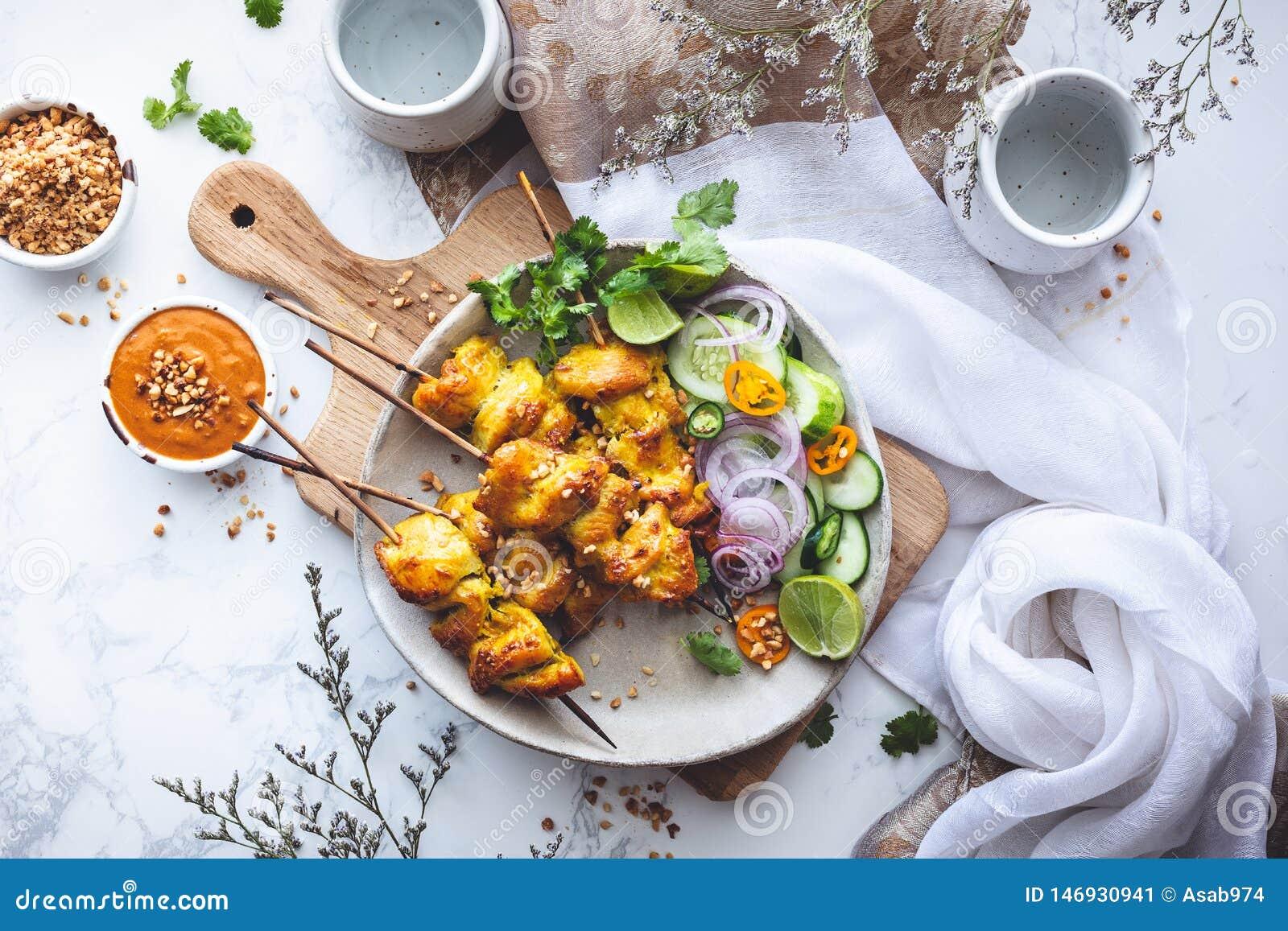 Satay Sauce or Peanuts Sauce for Chicken Satay