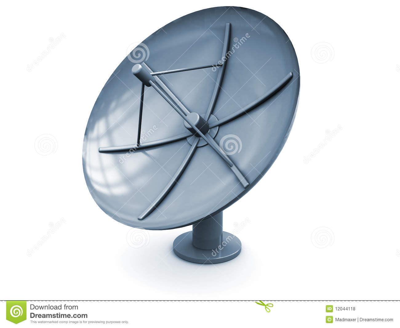 Satellite Antenna Royalty Free Stock Photos - Image: 12044118