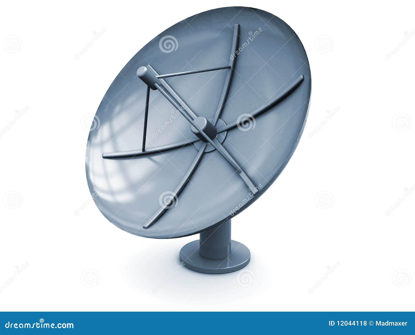 Satellite Antenna Royalty Free Stock Photos - Image: 12044118