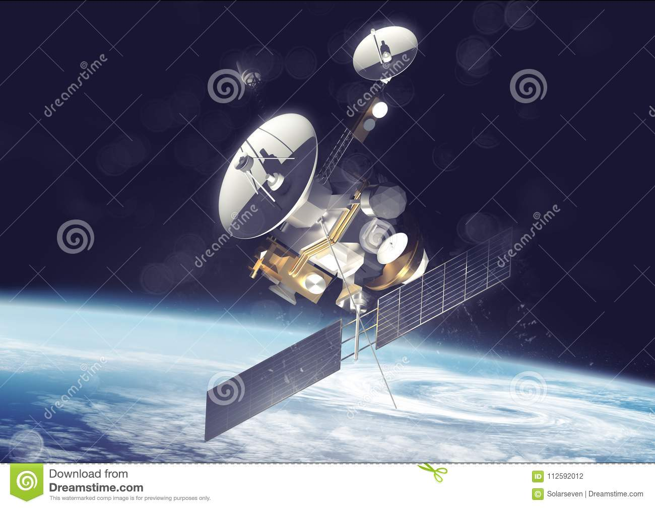 Satellite Communications In Space