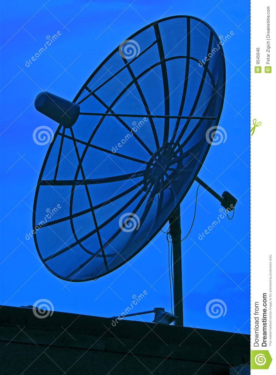 how to set up a sky satellite dish in france