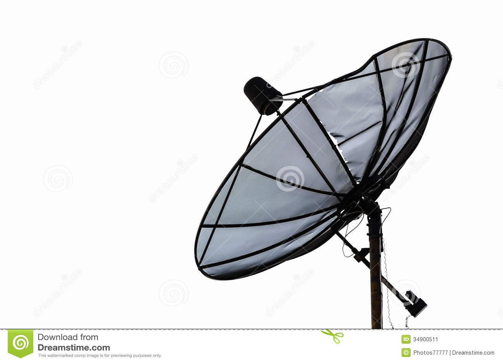 satellite dish dilapidated royalty free stock photography image