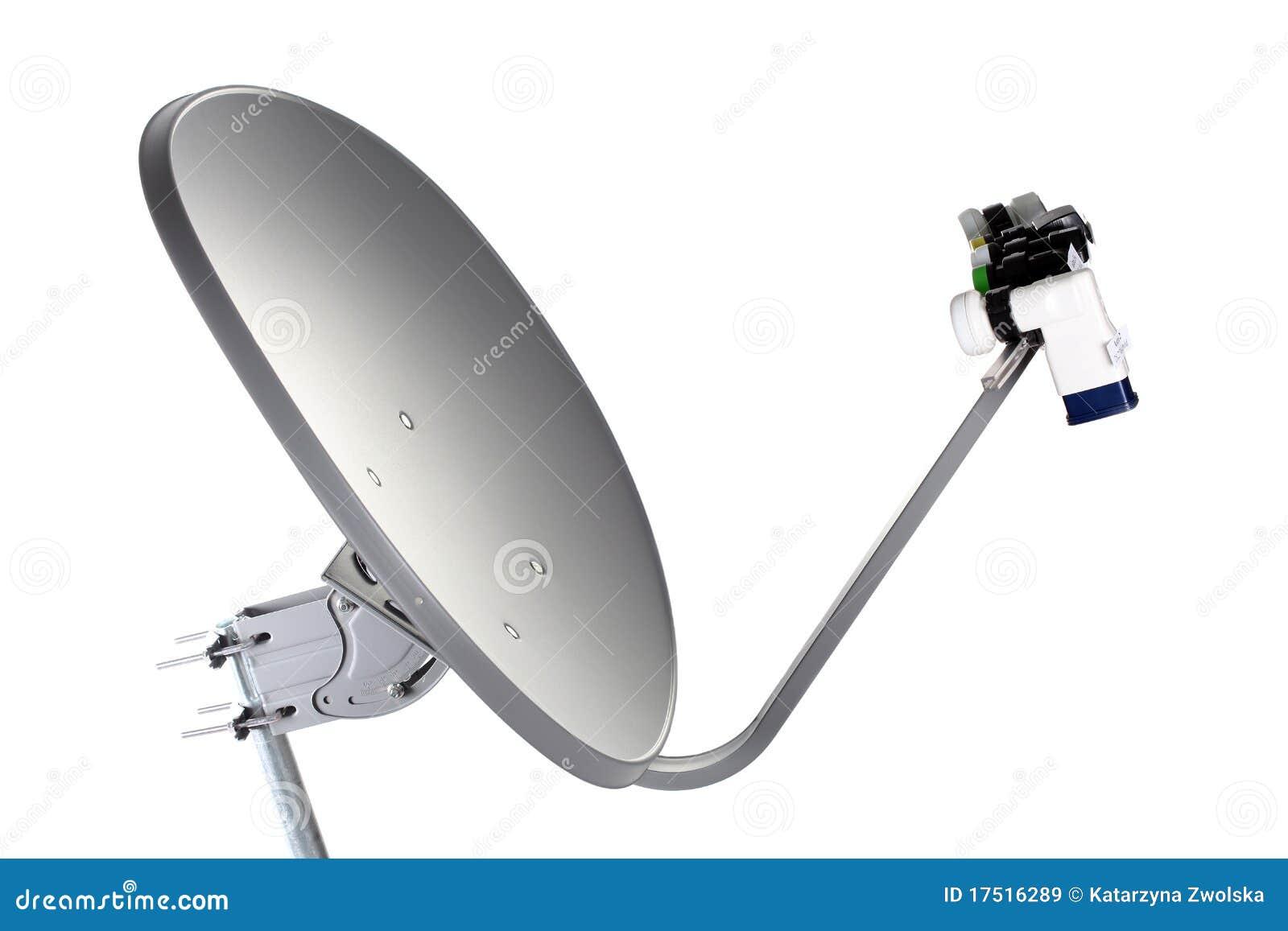 Download Satellite Dish Receiver stock image. Image of communication - 17516289