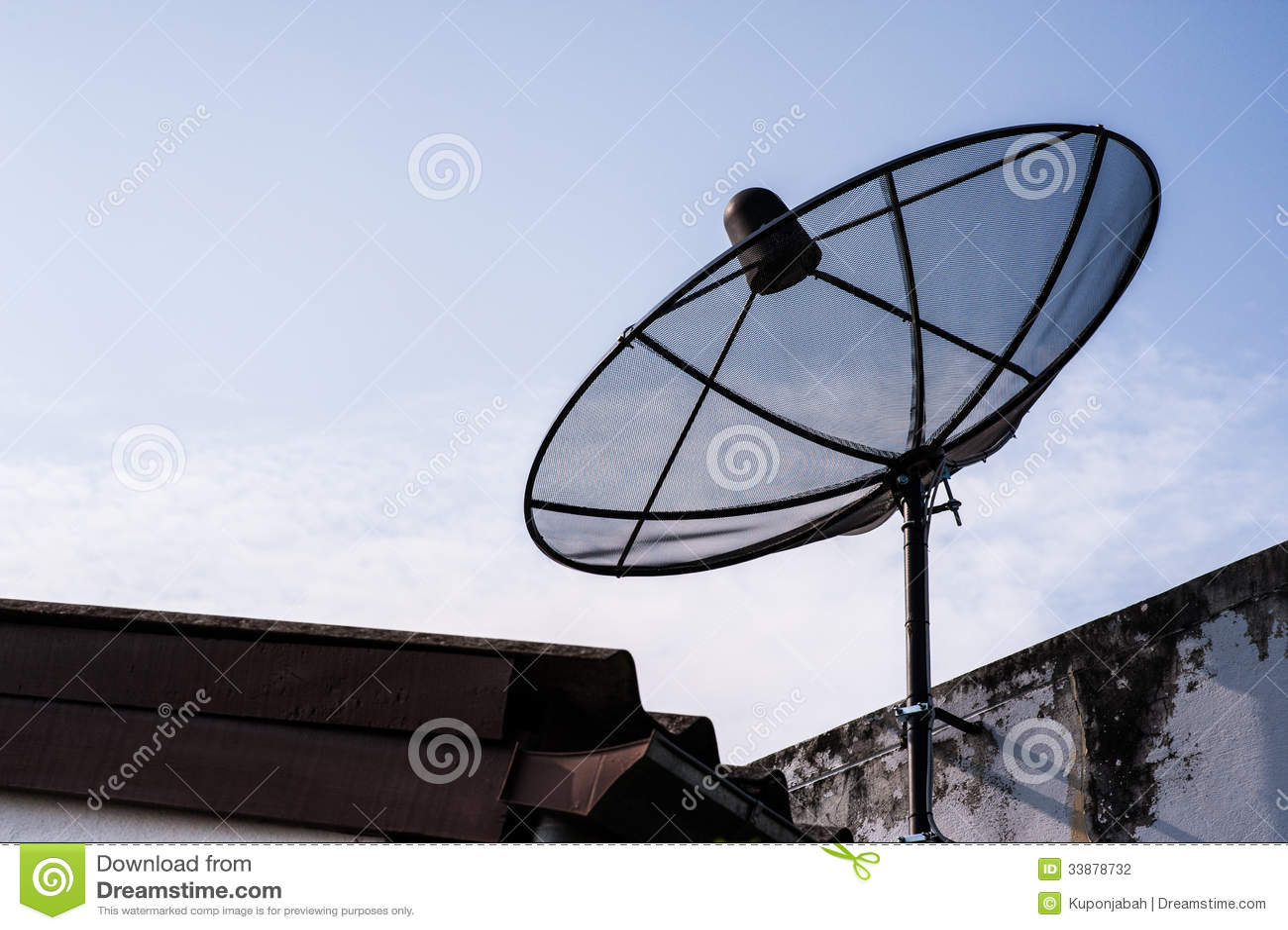 Satellite Dish Stock Photography Image 33878732