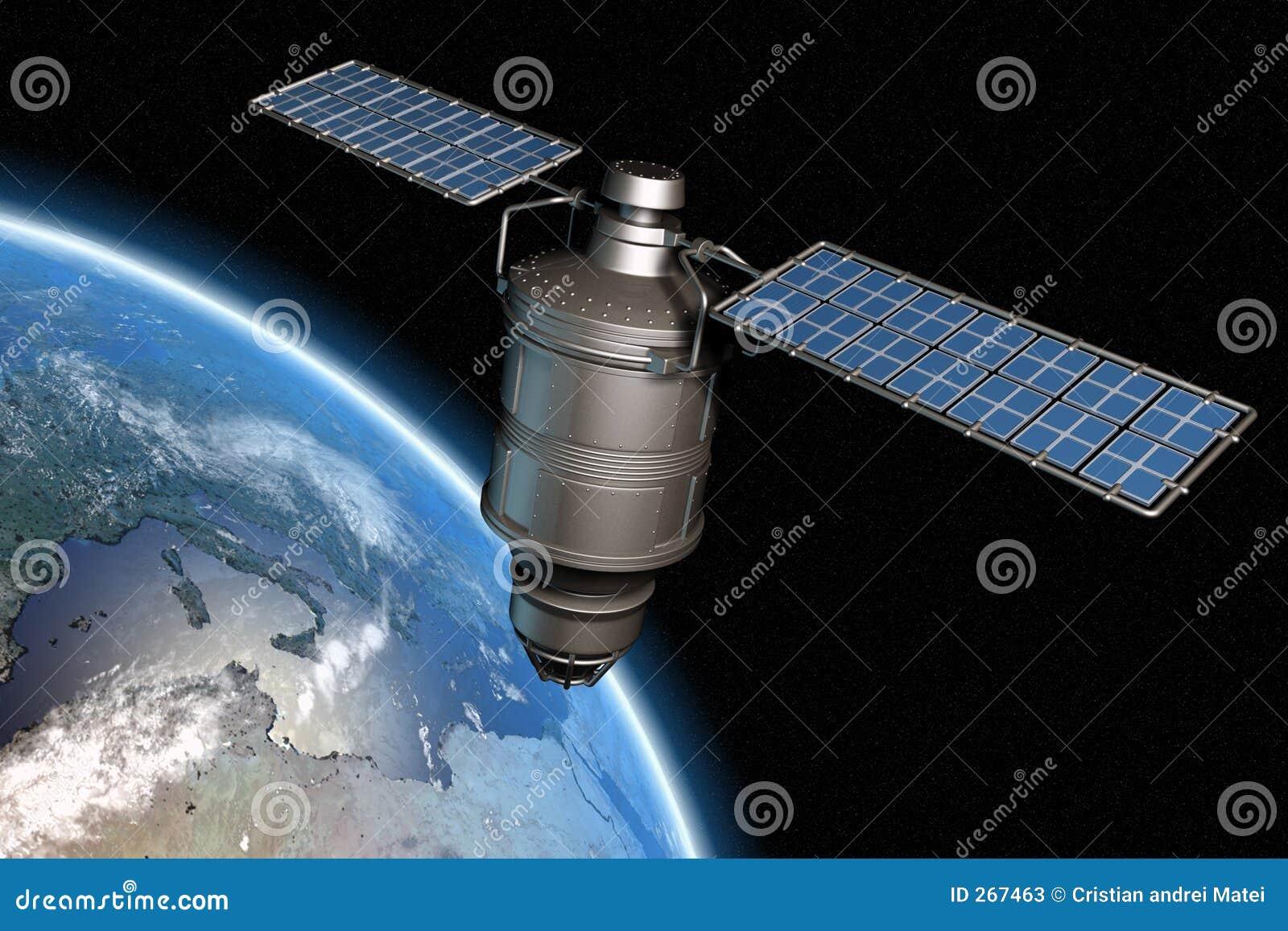 Satellite et terre 13