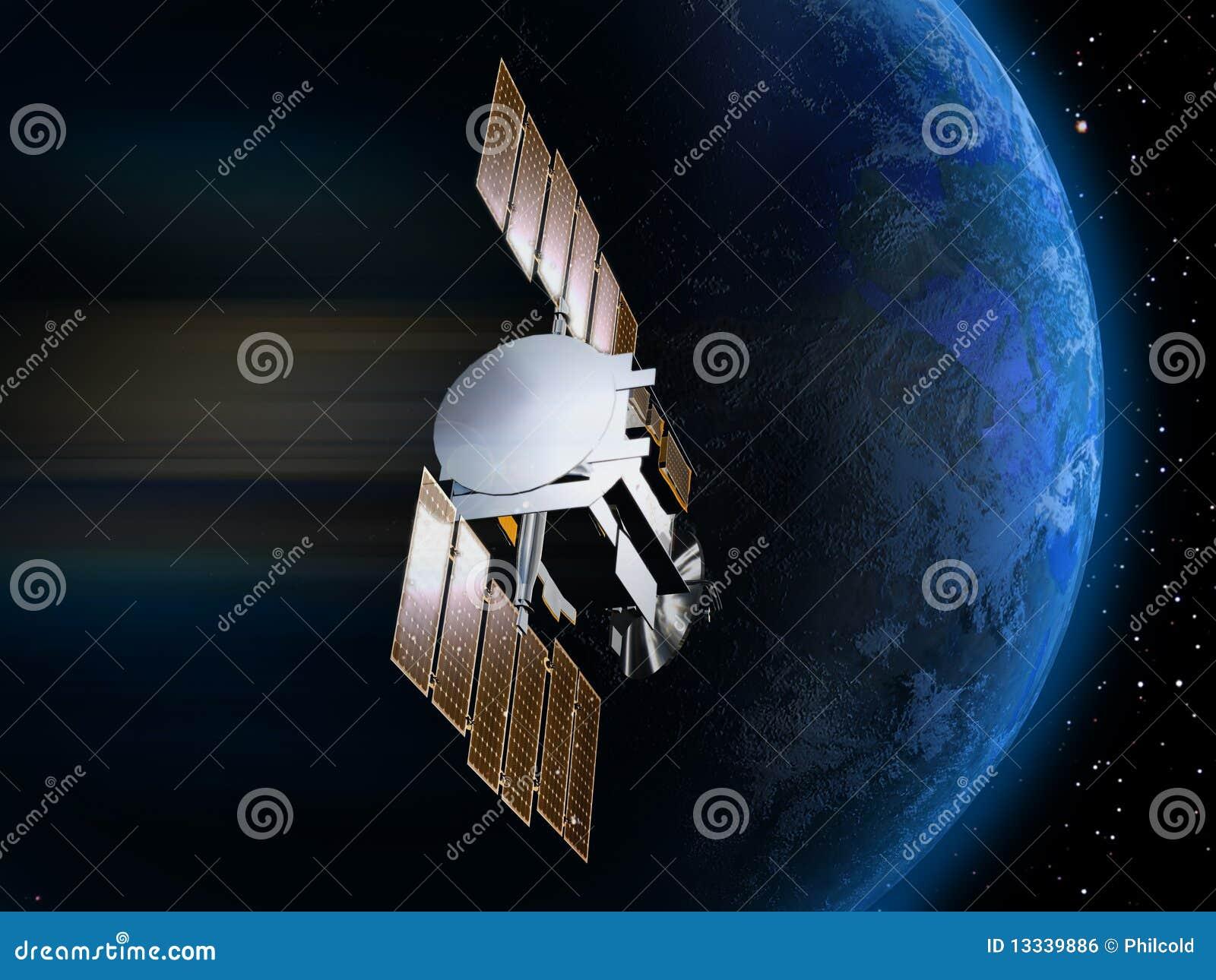 Satellite et terre 3